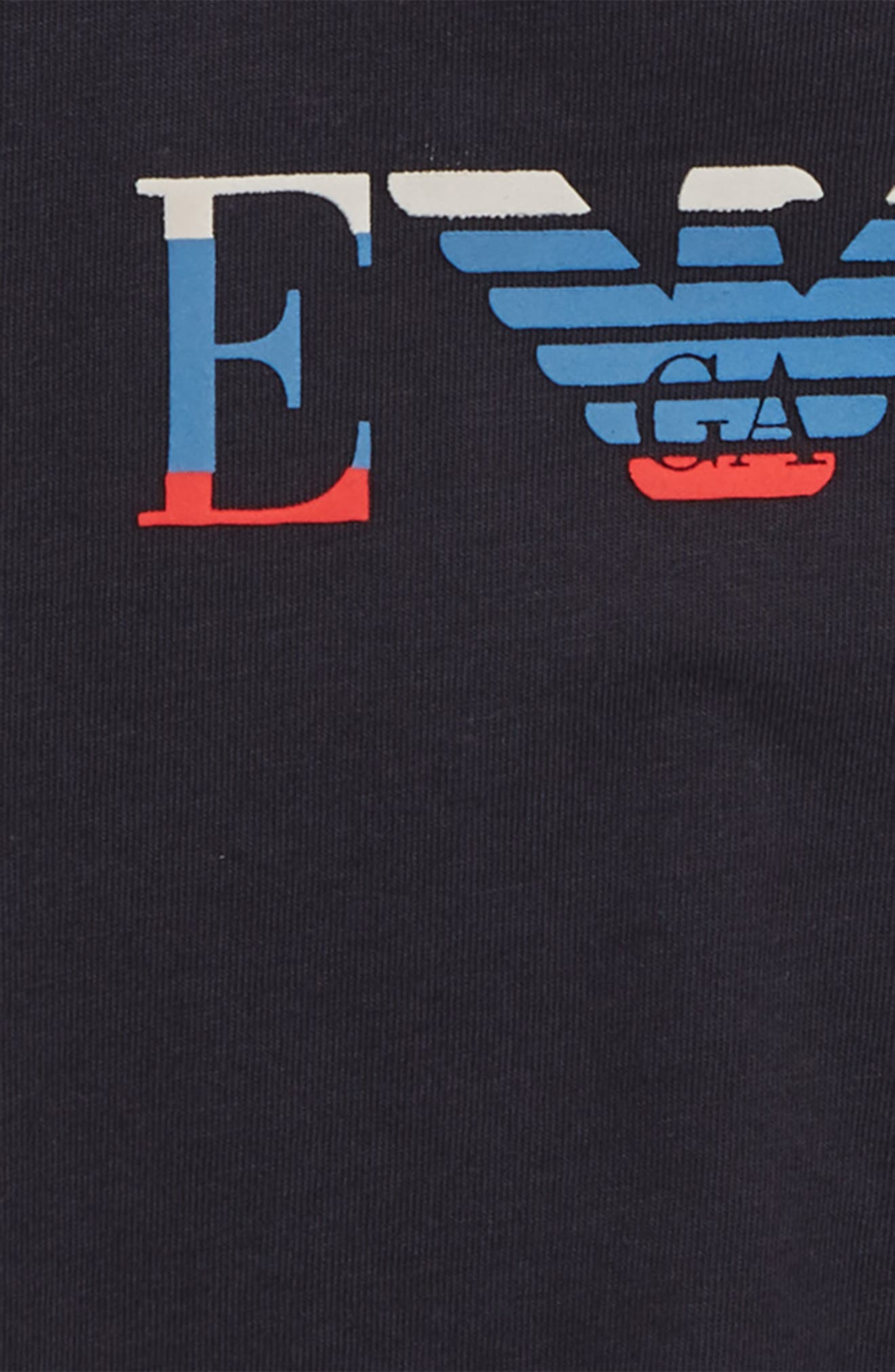 Graphic T-Shirt,                             Alternate thumbnail 2, color,                             SOLID BLUE NAVY