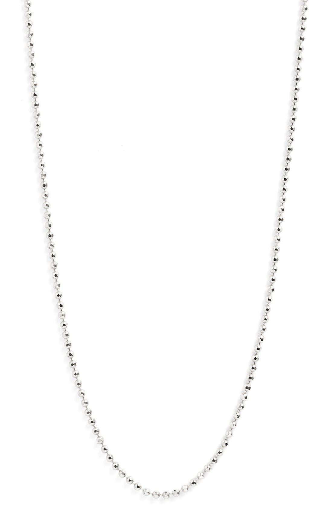 Long Ball Chain Necklace,                             Alternate thumbnail 5, color,                             040