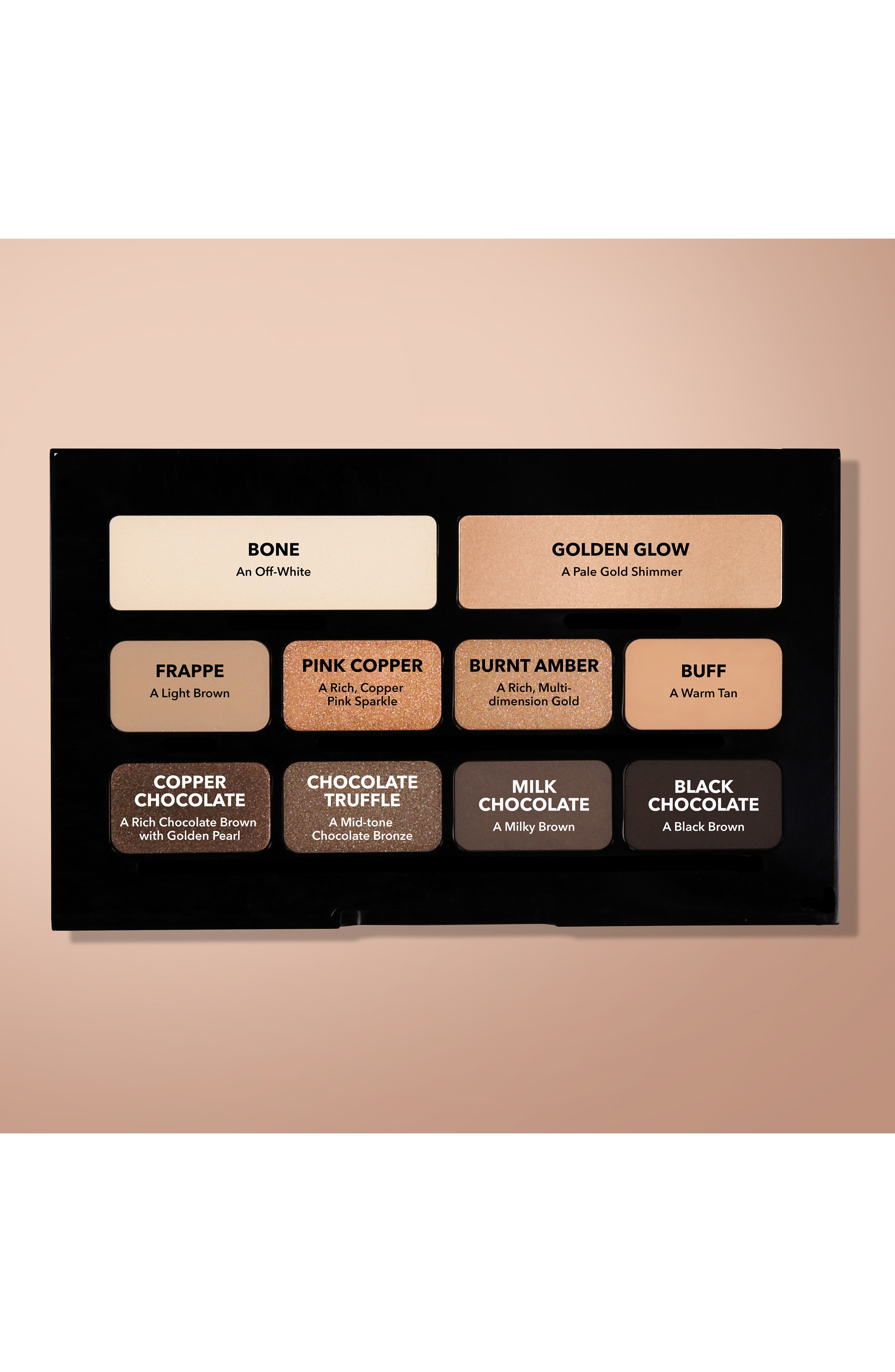 Nude on Nude Eyeshadow Palette,                             Alternate thumbnail 7, color,                             BRONZED NUDES