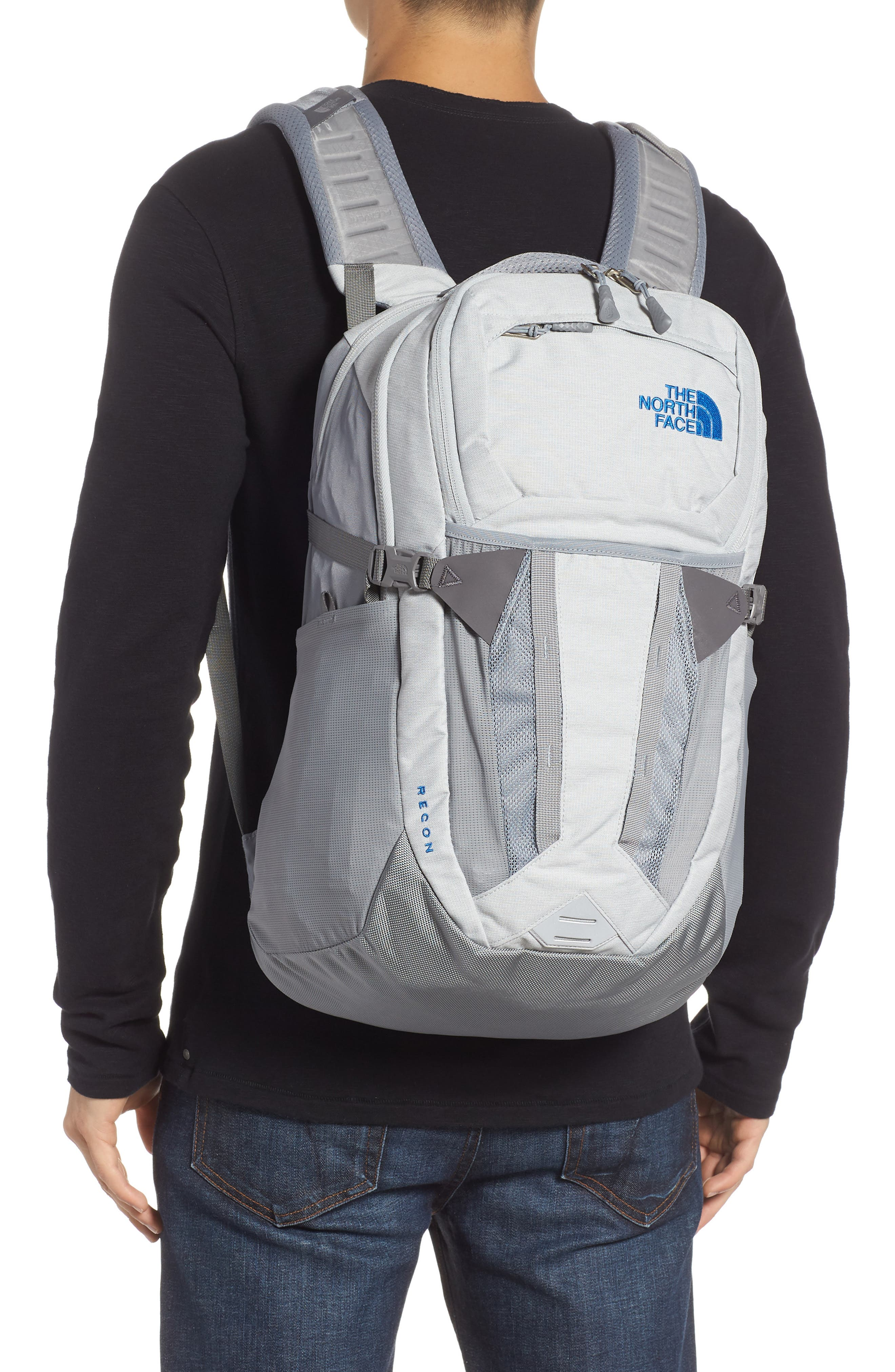 Recon Backpack,                             Alternate thumbnail 2, color,                             HIGH RISE GREY HEATHER/ GREY