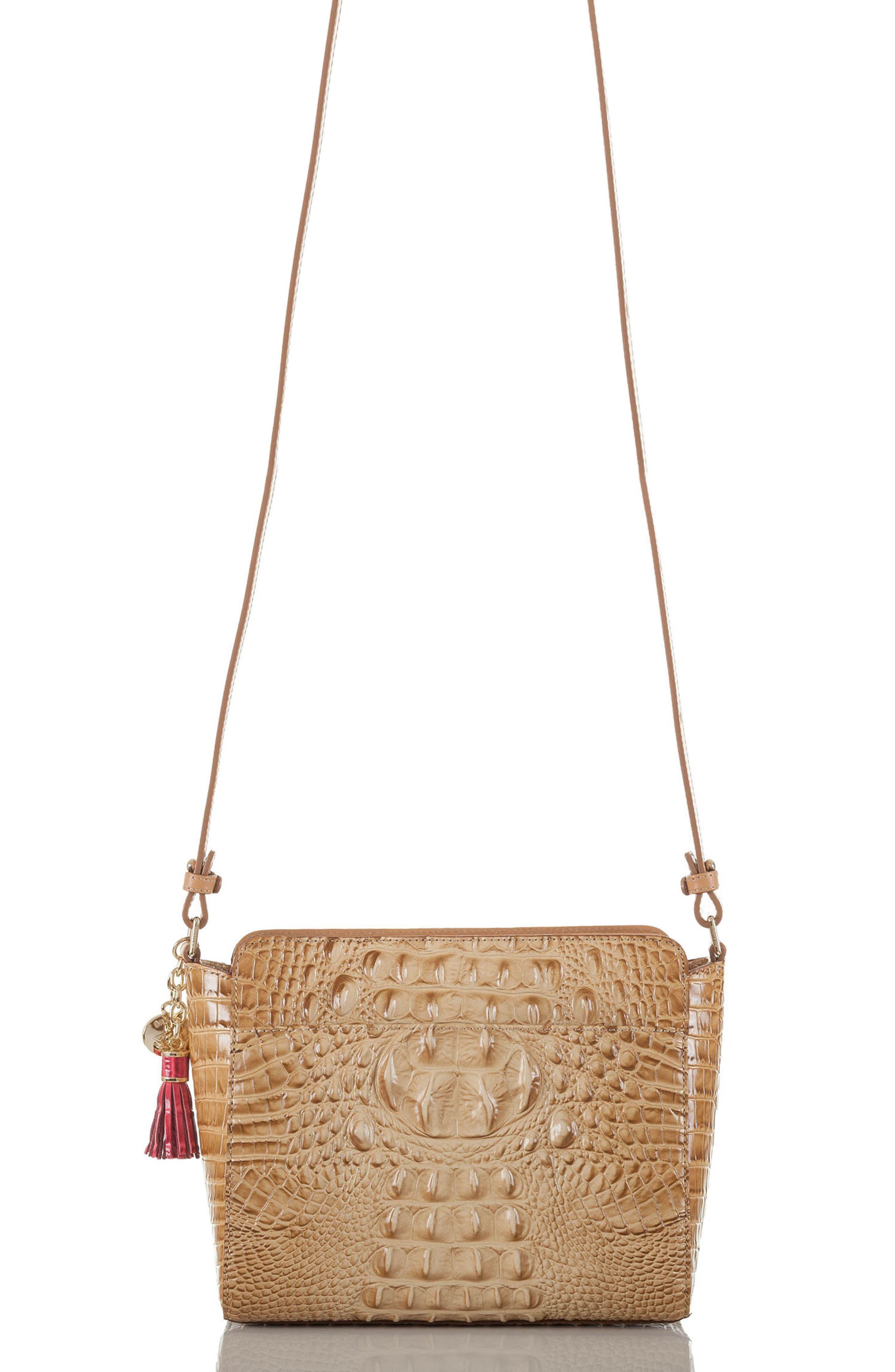 Carrie Leather Crossbody Bag,                             Alternate thumbnail 2, color,                             400
