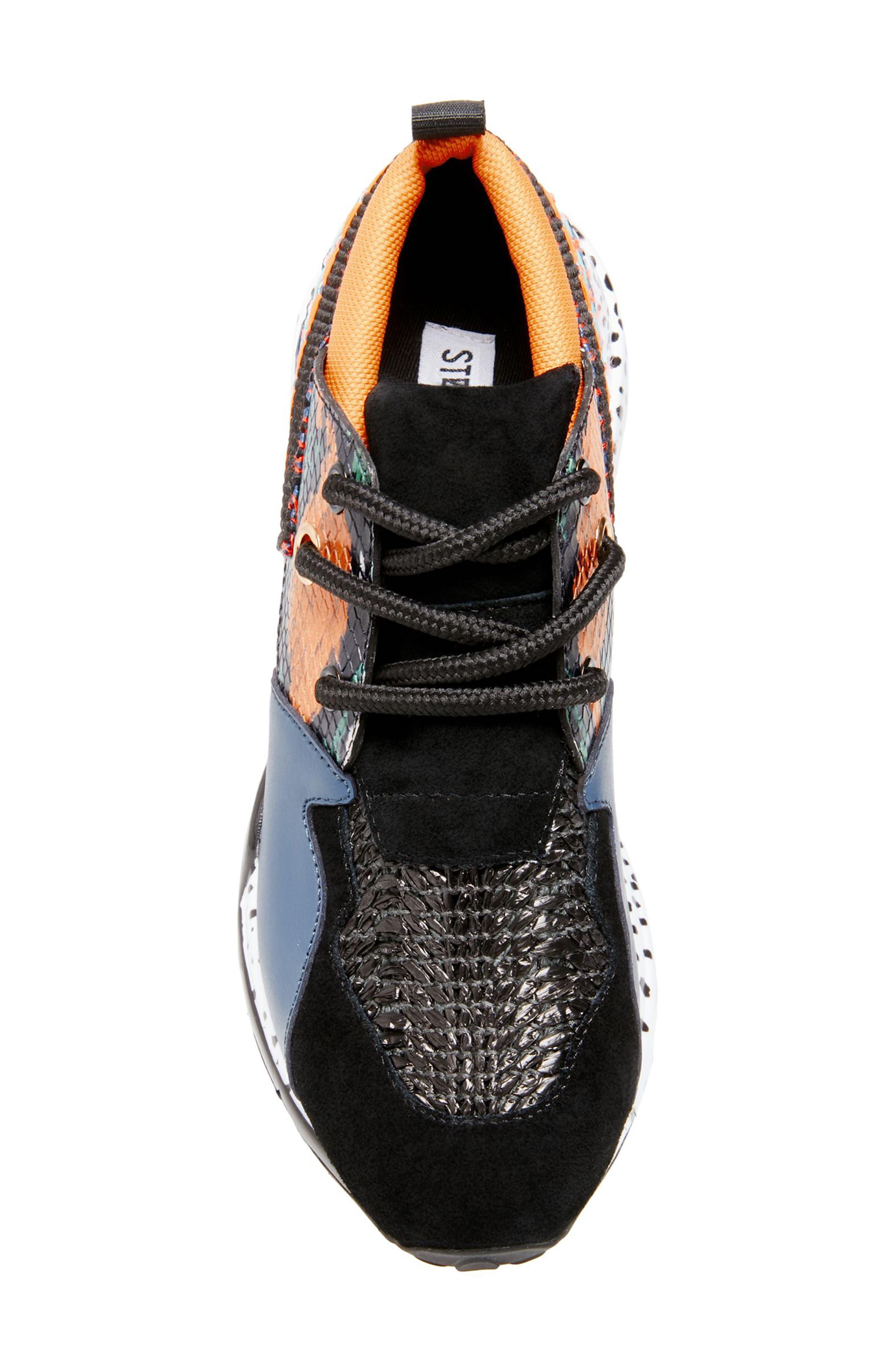 Cliff Sneaker,                             Alternate thumbnail 5, color,                             ORANGE MULTICOLOR