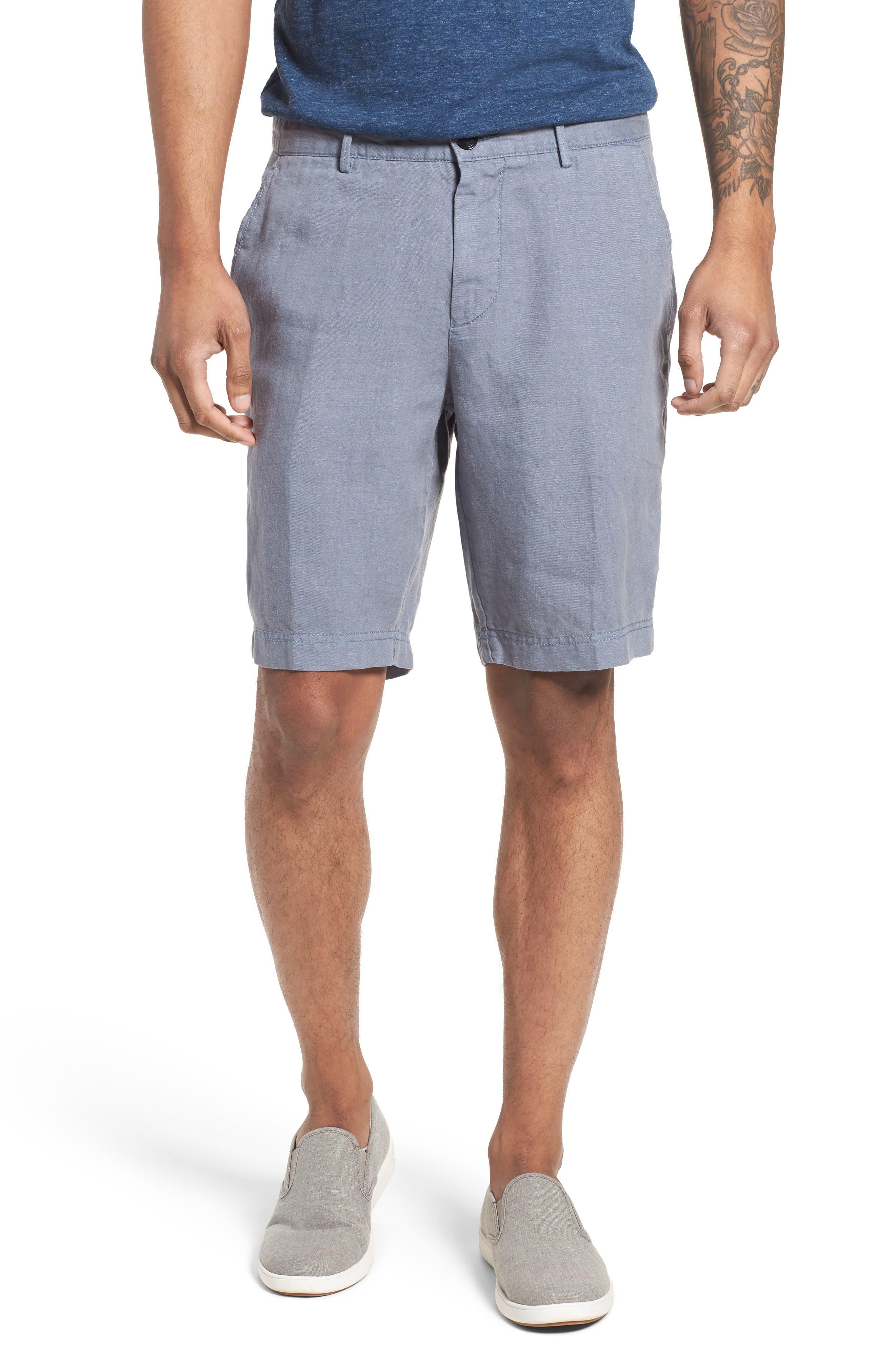 Crigan Linen Shorts,                             Main thumbnail 1, color,
