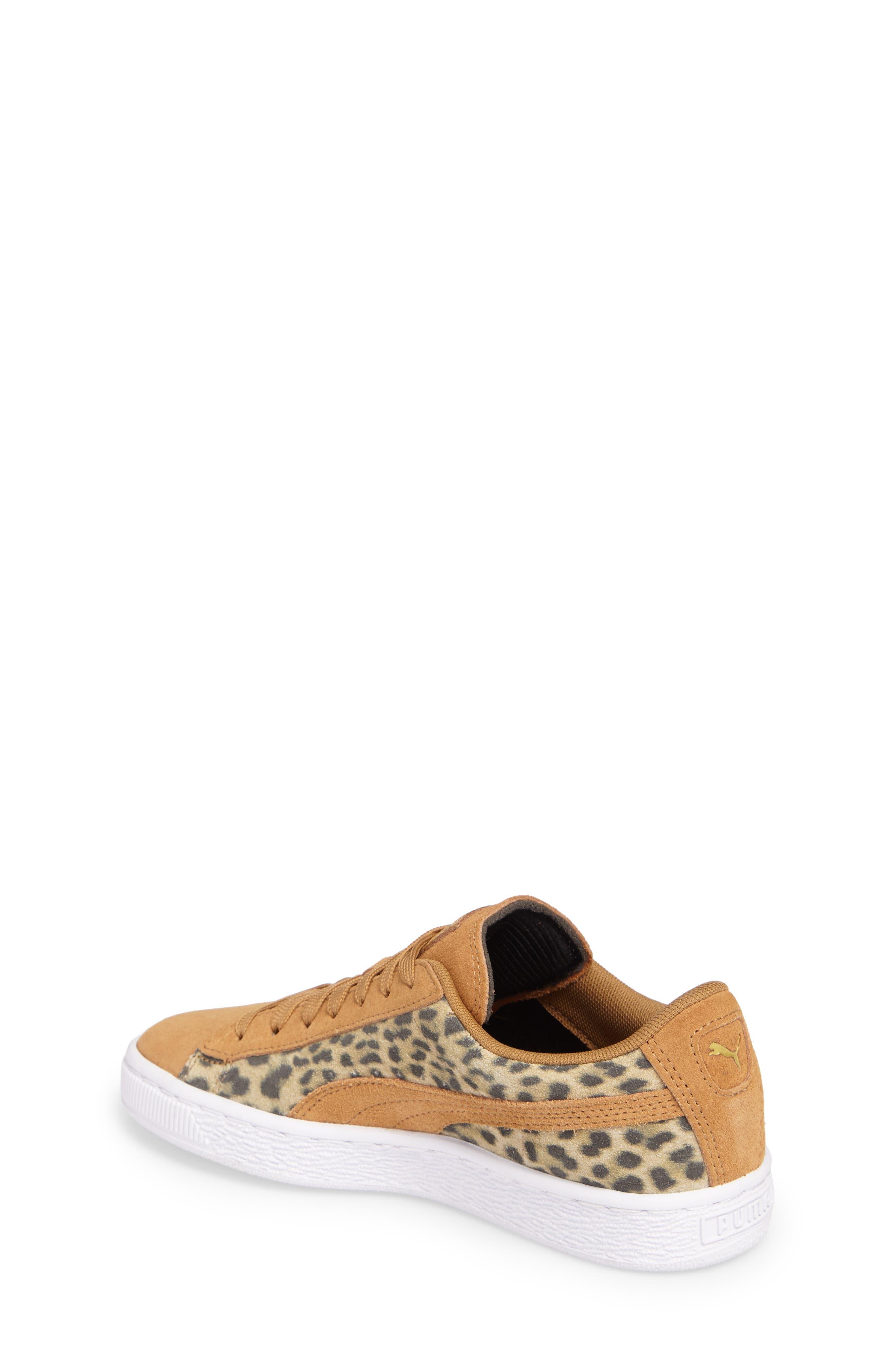 Suede Animal Sneaker,                             Alternate thumbnail 2, color,                             200