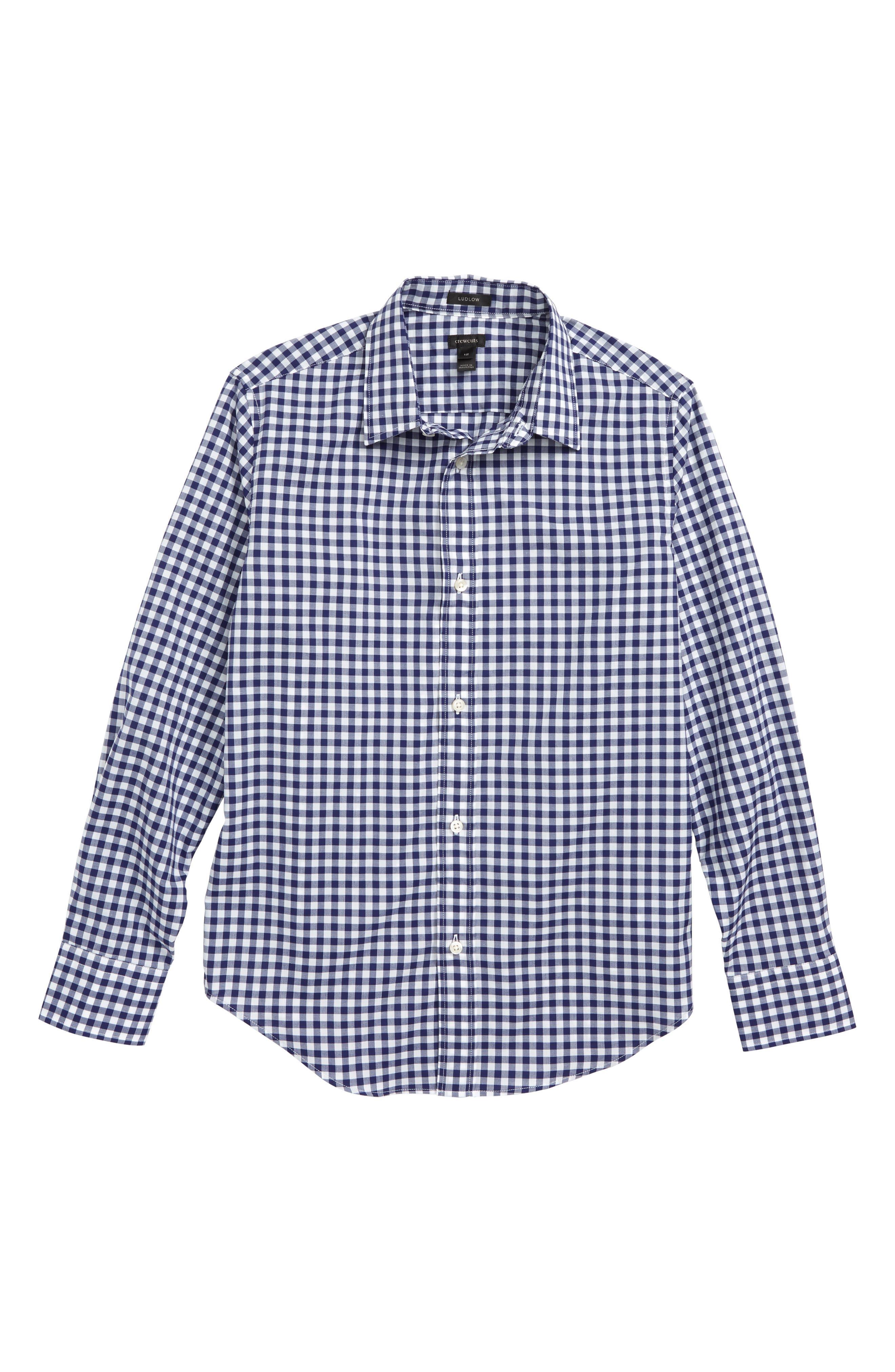 Ludlow Stripe Dress Shirt,                         Main,                         color, 400
