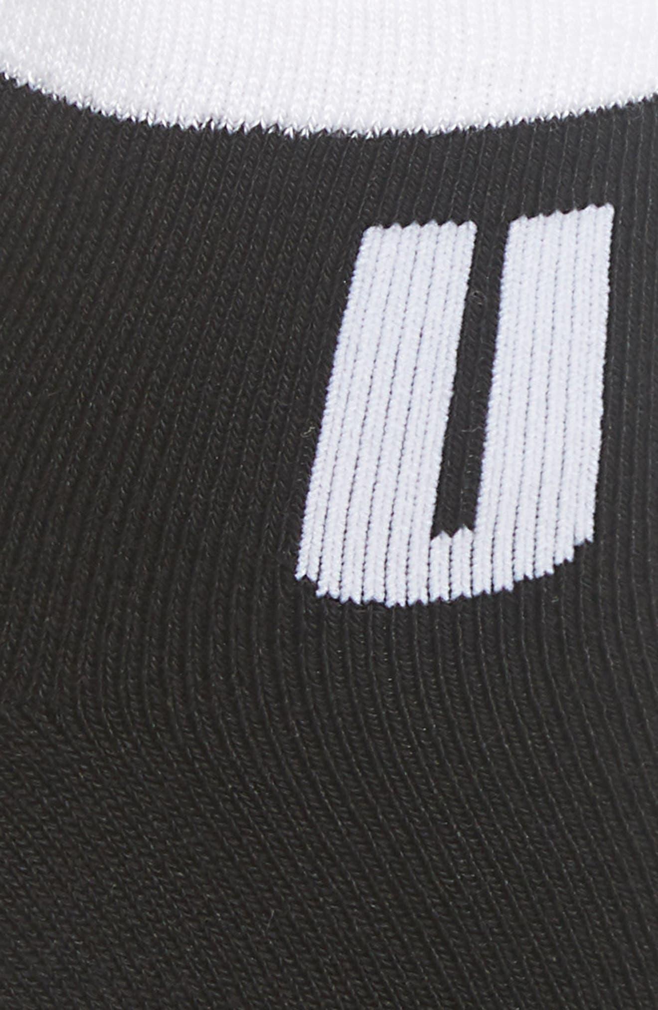 Ankle Socks,                             Alternate thumbnail 3, color,                             BLACK