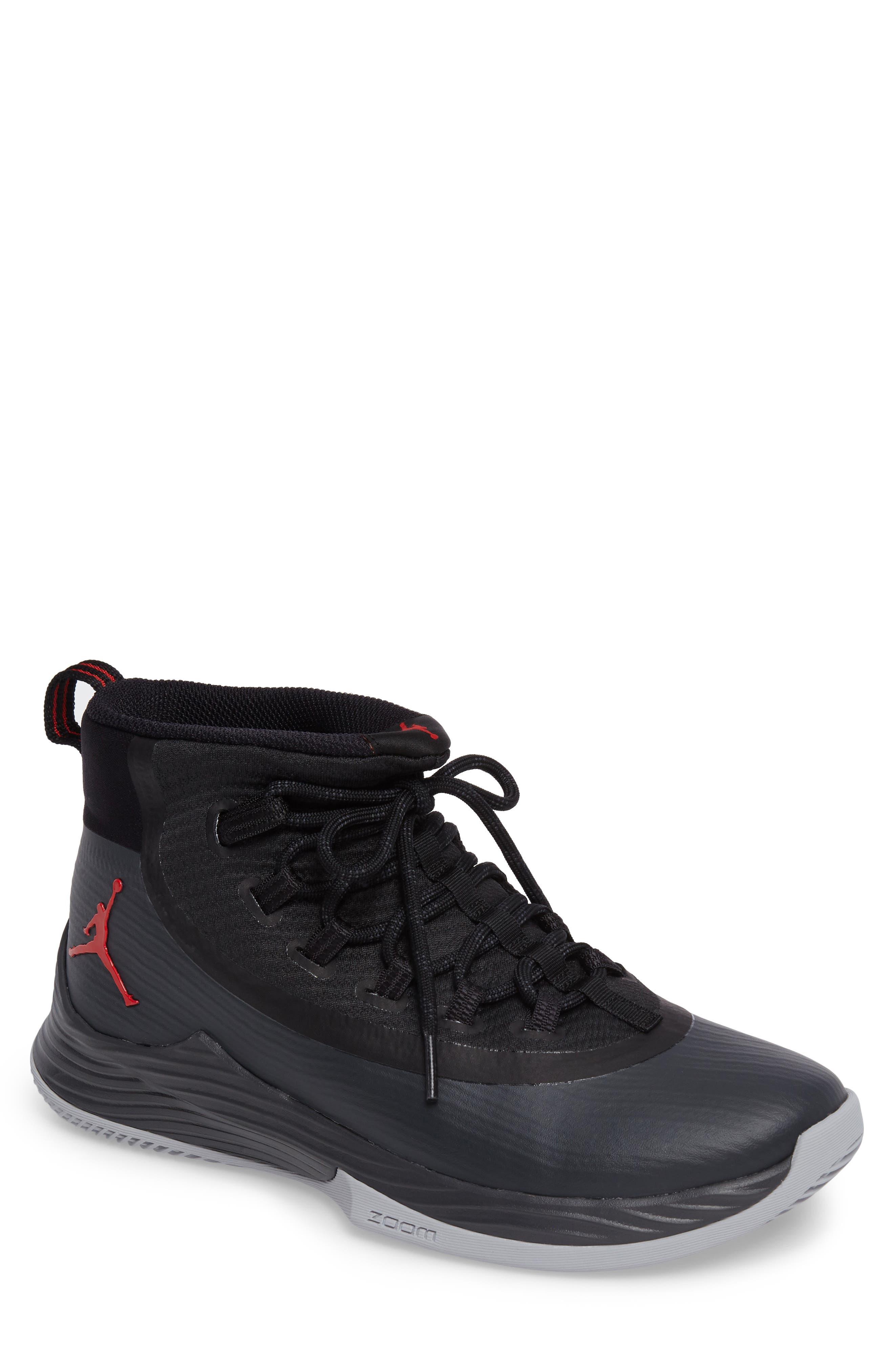 Jordan Ultra Fly 2 Basketball Shoe,                             Main thumbnail 1, color,                             002