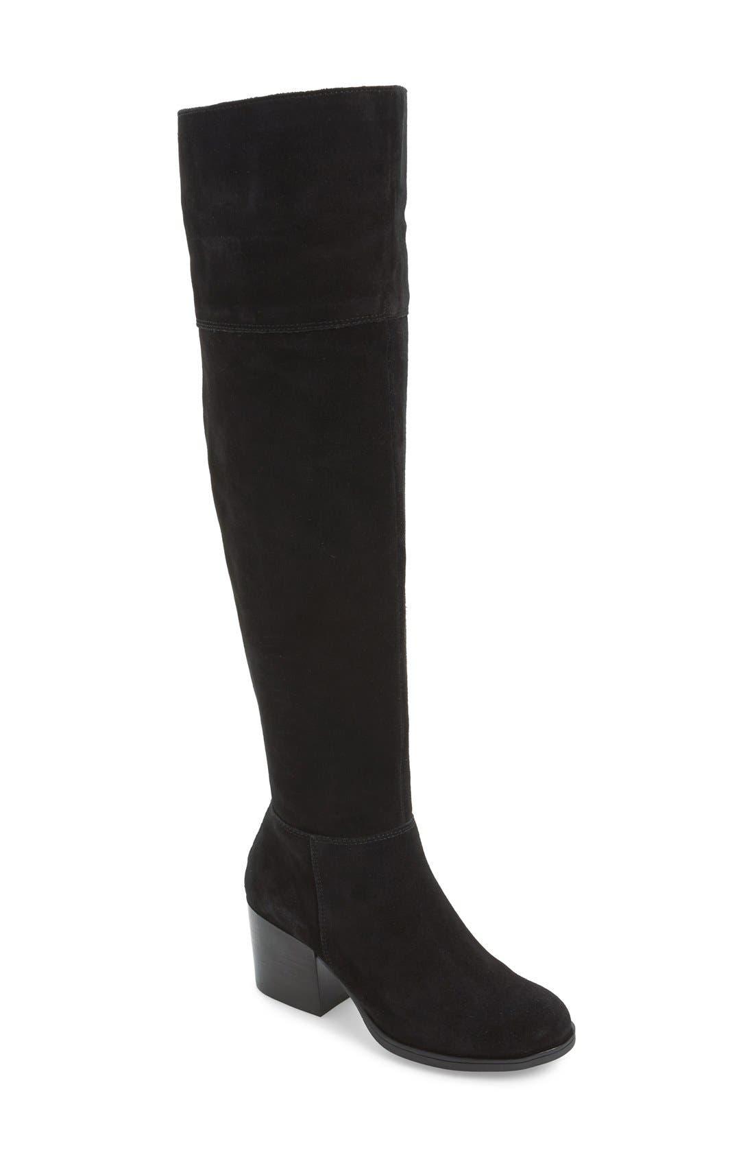 'Orabela' Knee High Boot,                             Main thumbnail 1, color,                             006