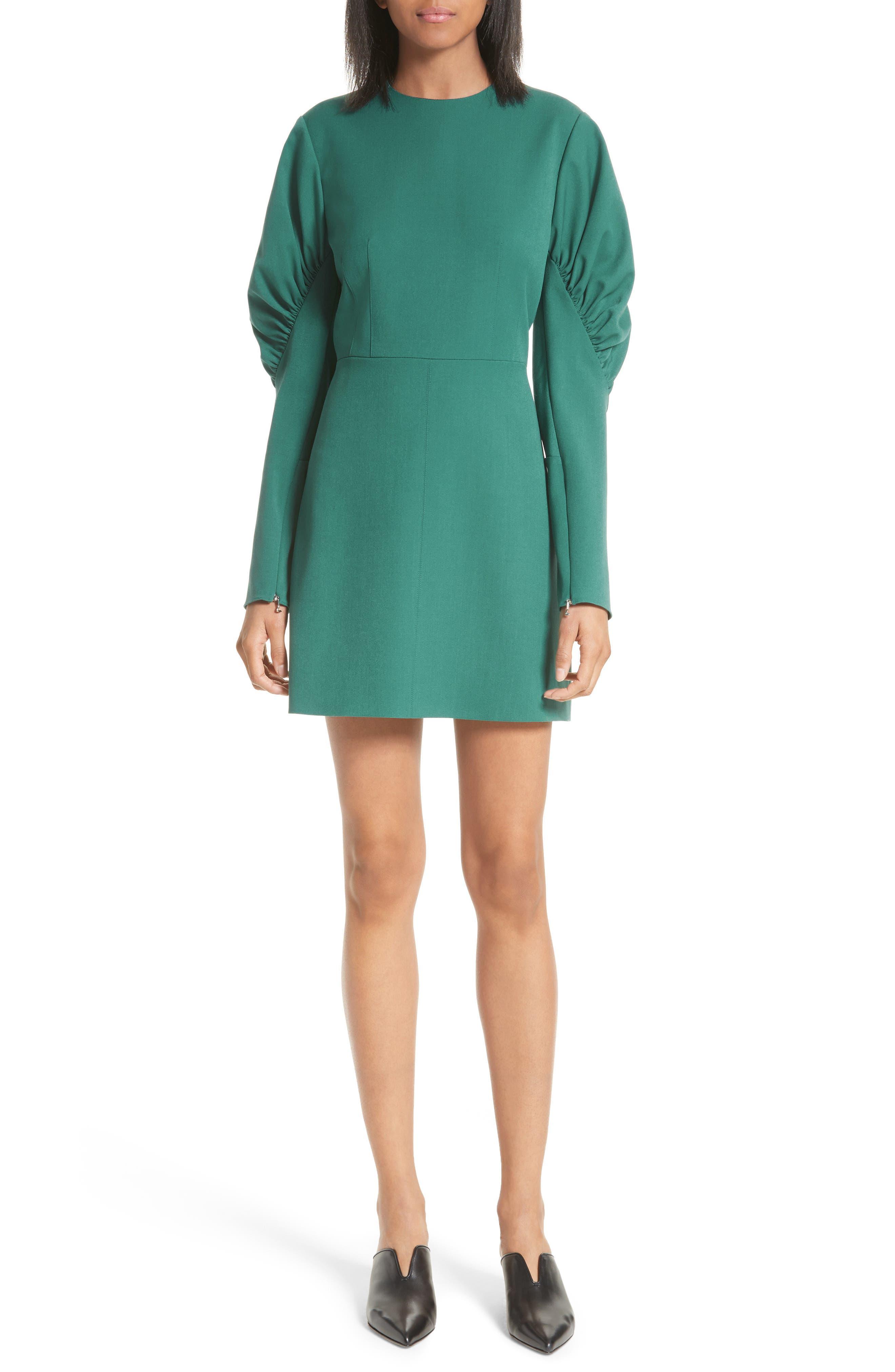 Florence Twill Minidress,                         Main,                         color, 300