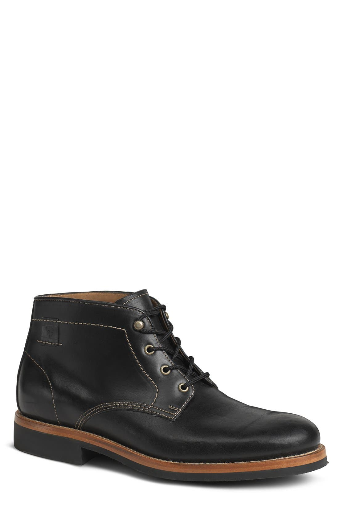 'Irving Mid' Plain Toe Boot,                         Main,                         color, 001