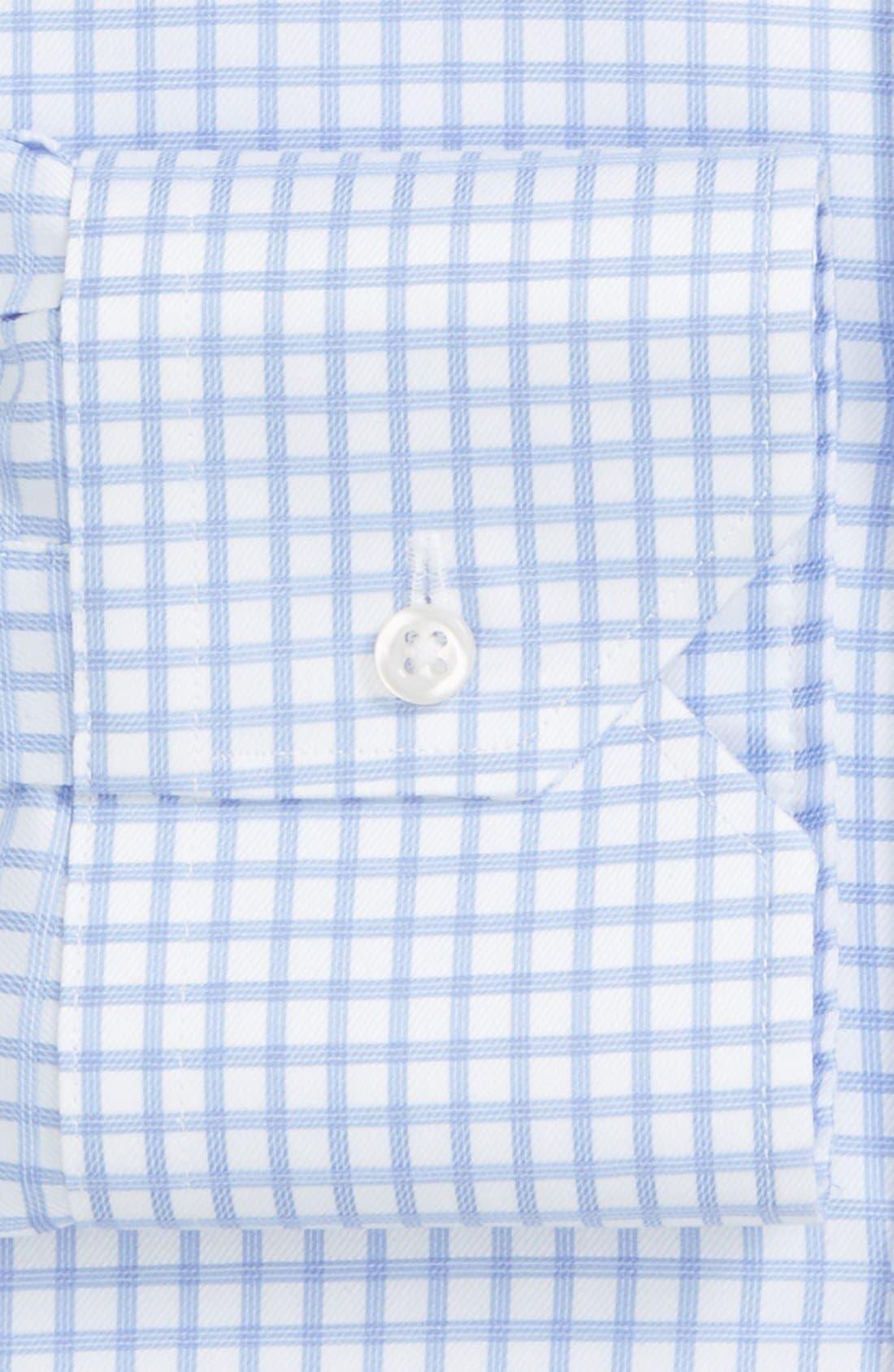 Classic Fit Non-Iron Check Dress Shirt,                             Alternate thumbnail 2, color,                             450