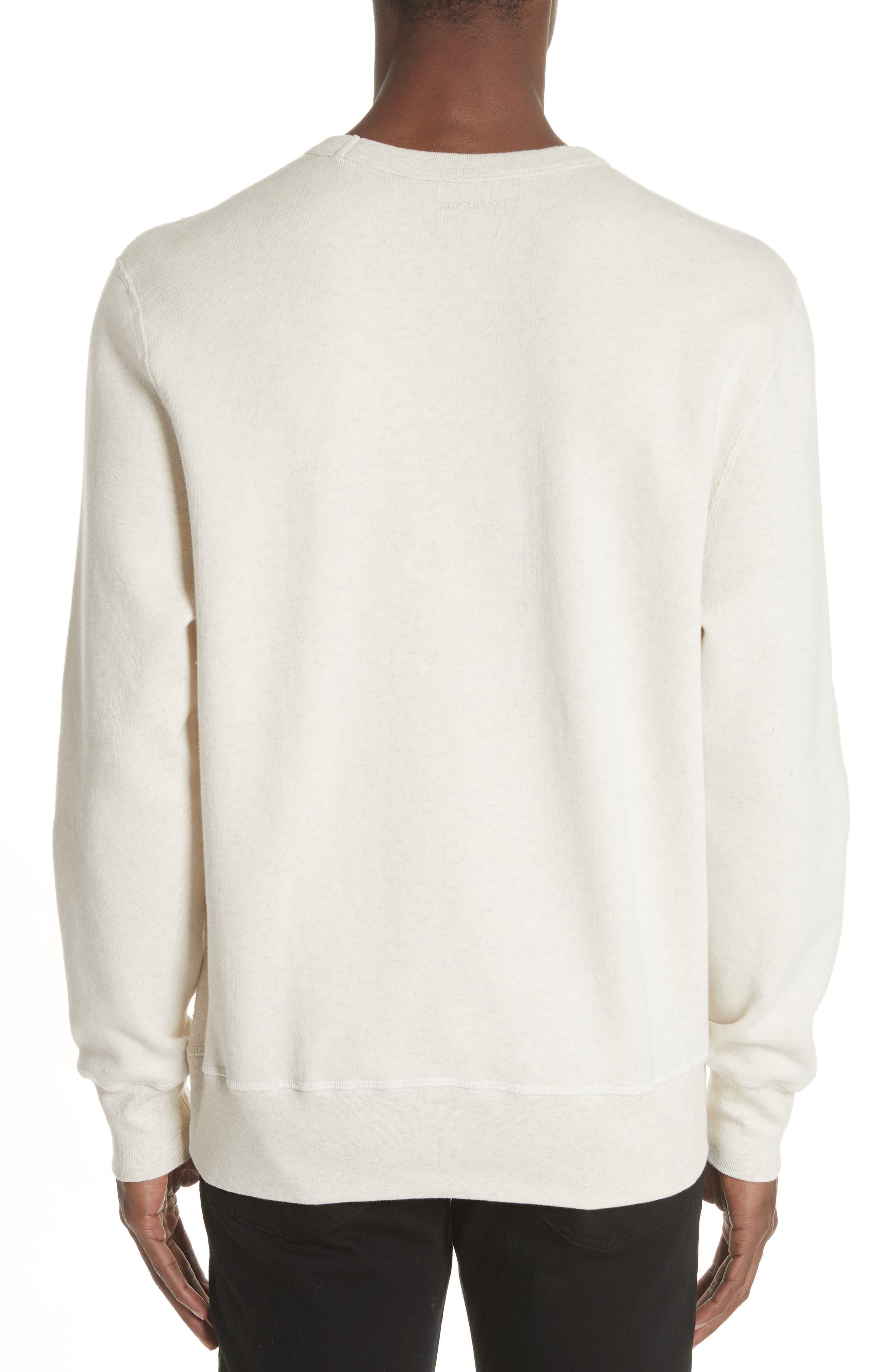 Crewneck Sweatshirt,                             Alternate thumbnail 2, color,                             050