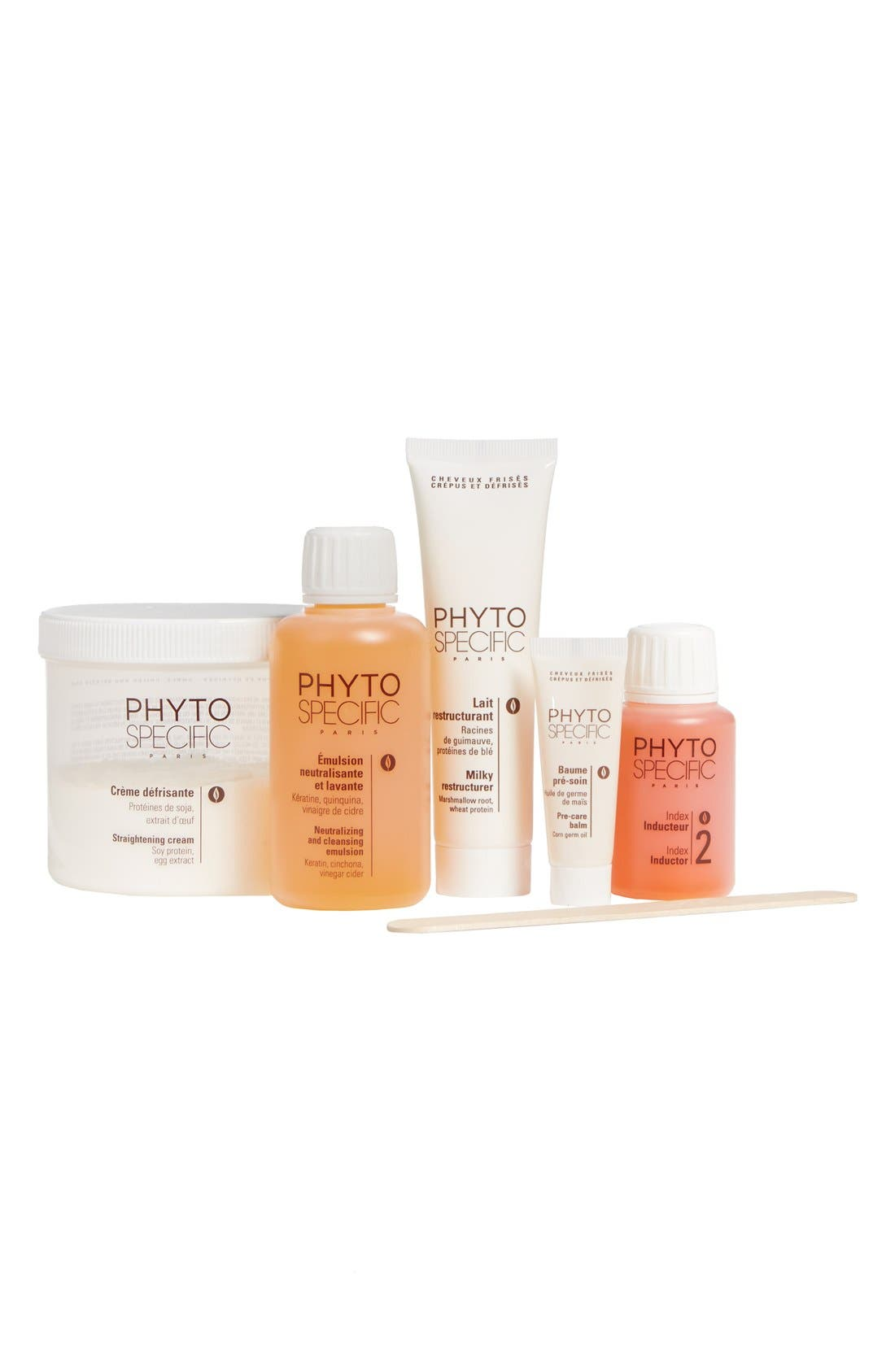 PhytoSpecific PhytoRelaxer Index 2 Treatment Set for Normal, Thick or Resistant Hair, Main, color, 000