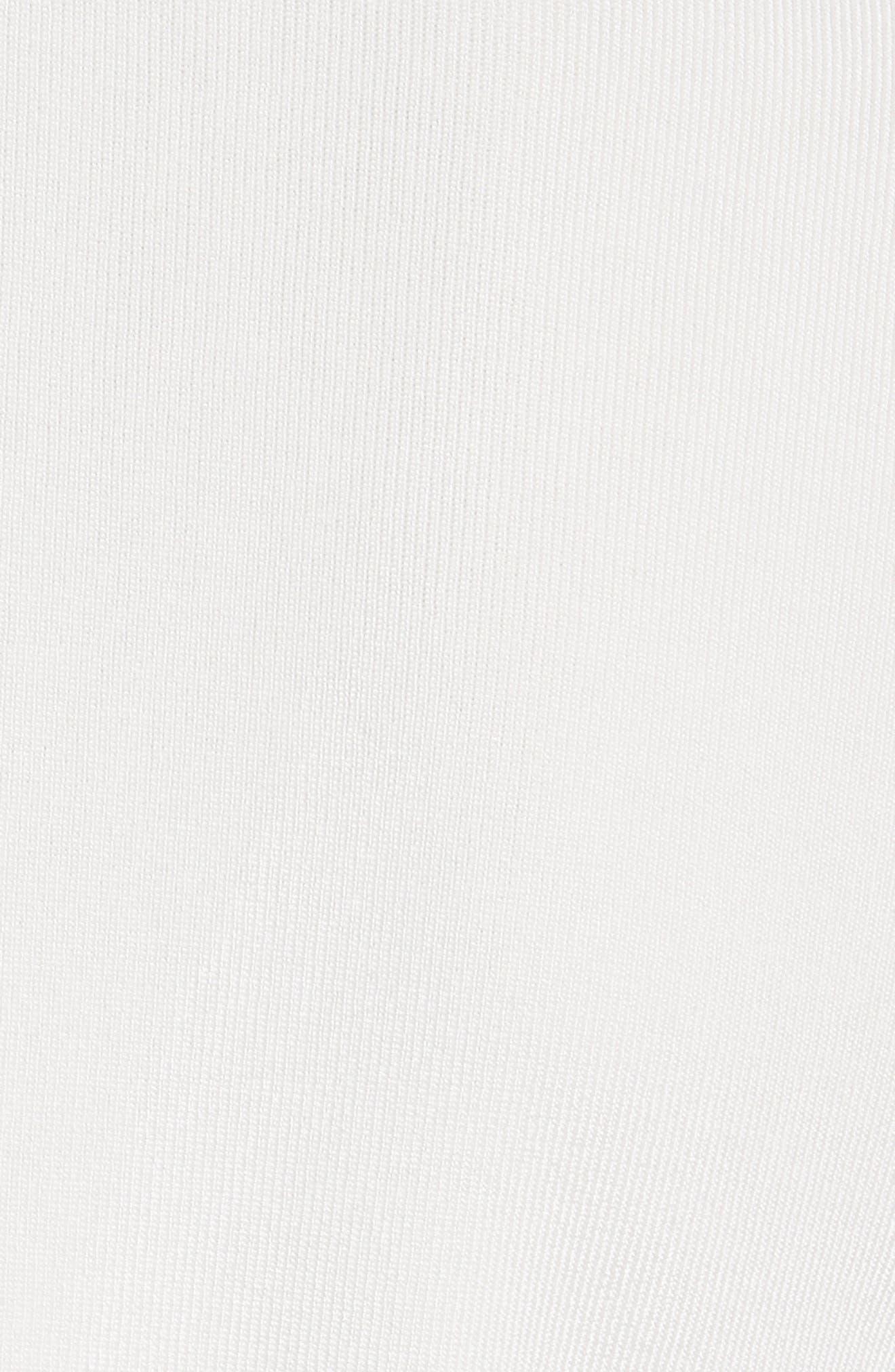 Vivienne Front Zip Sweater,                             Alternate thumbnail 5, color,                             900
