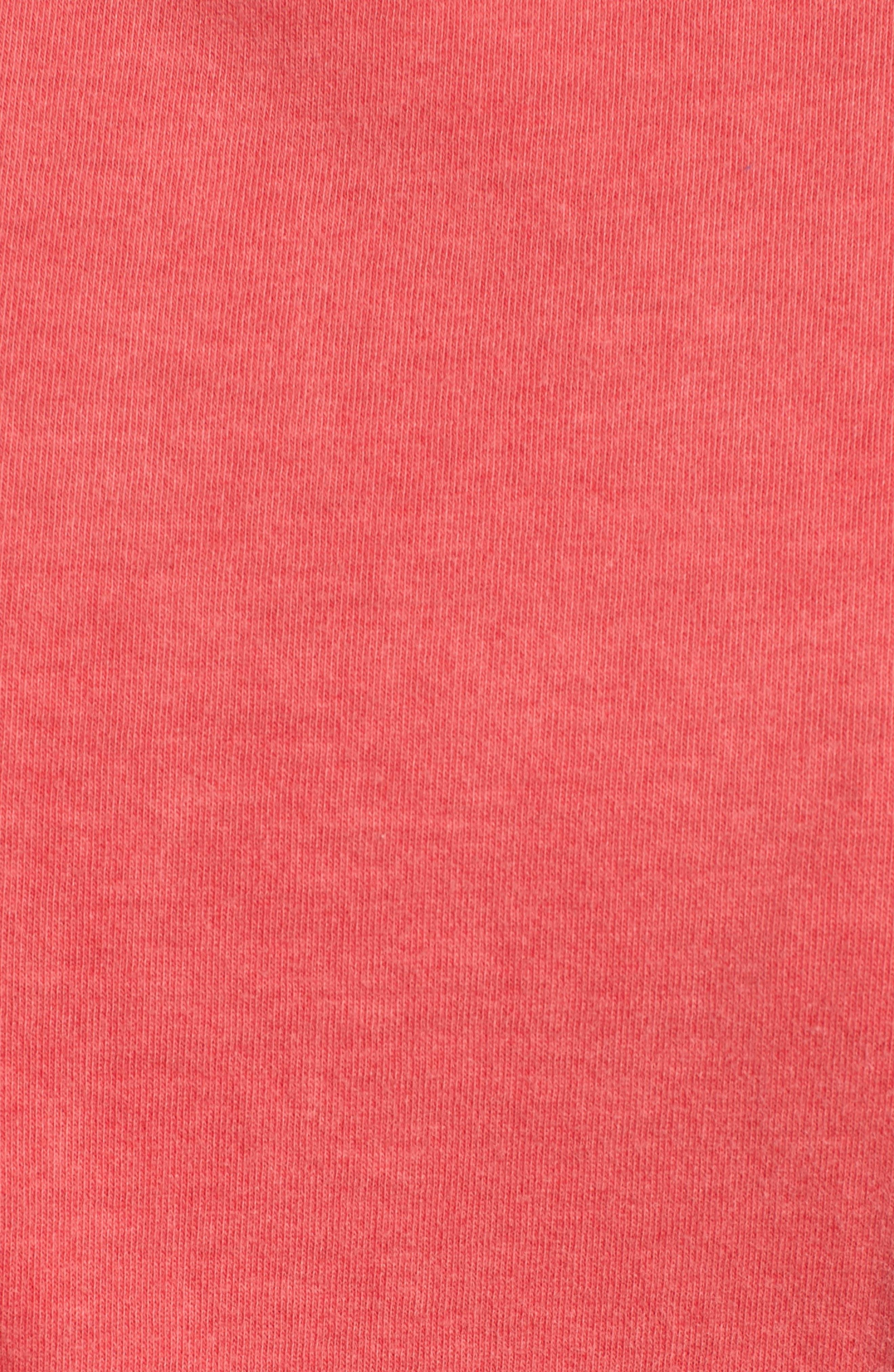 Twist Jersey Dress,                             Alternate thumbnail 6, color,                             SCARLET