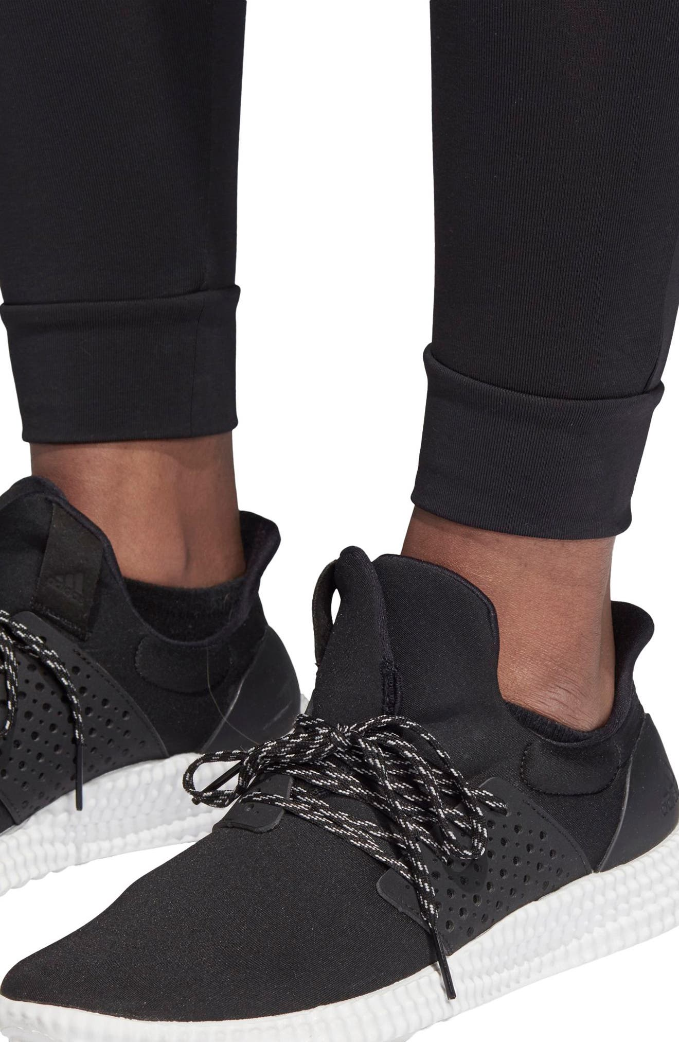 7/8 Leggings,                             Alternate thumbnail 5, color,                             BLACK