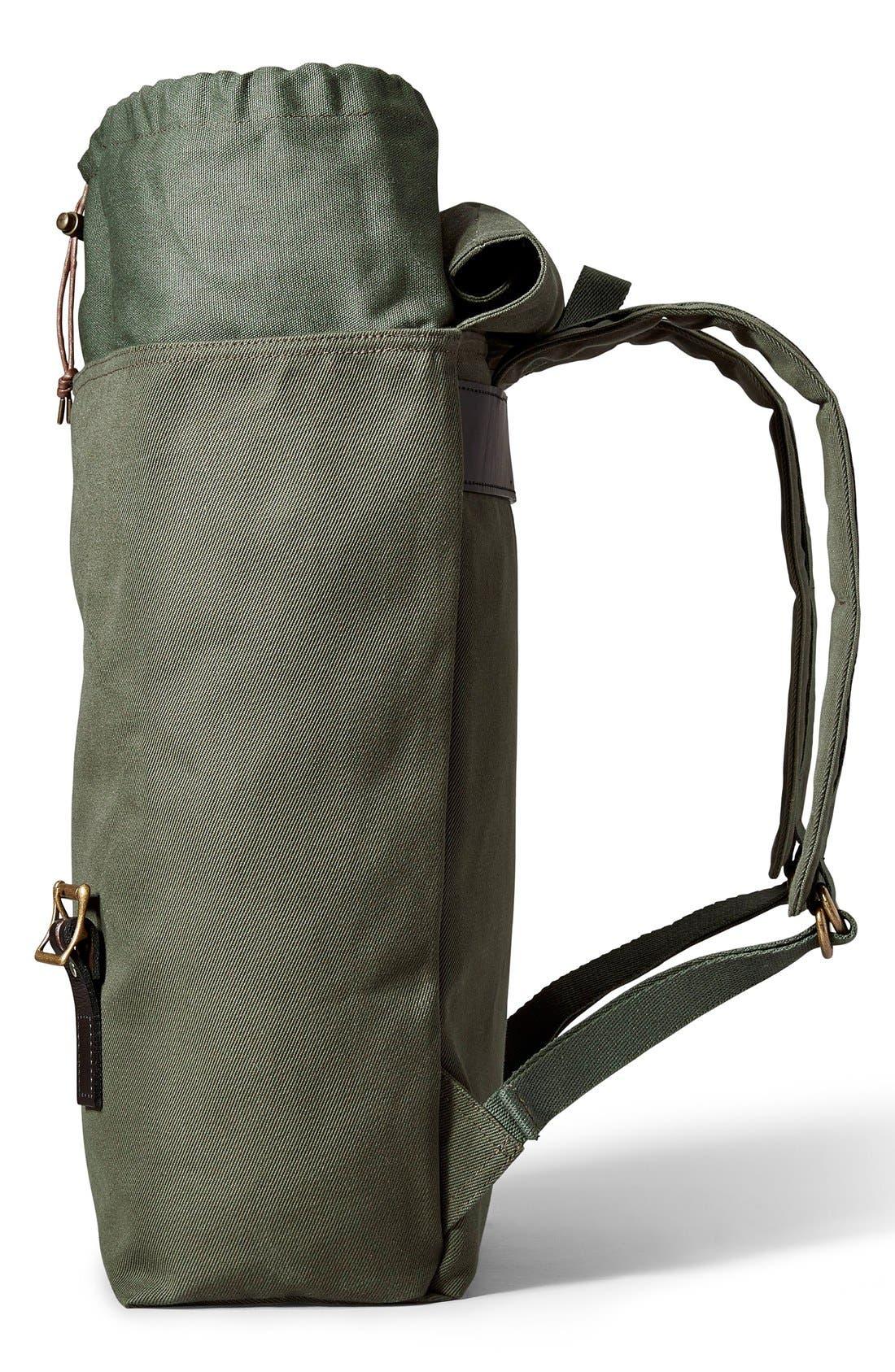 'Ranger' Canvas Backpack,                             Alternate thumbnail 9, color,