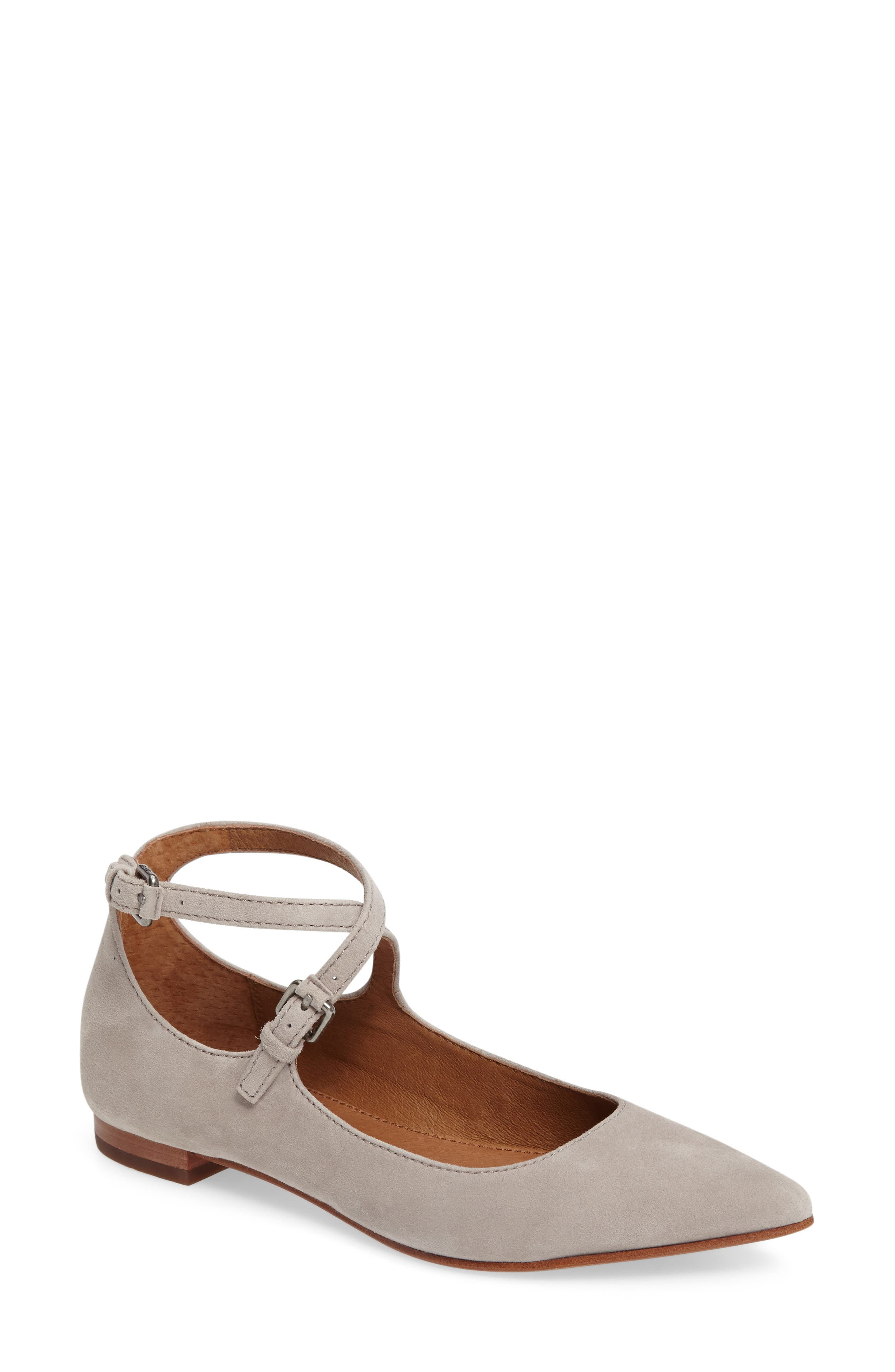 Sienna Cross Ballet Flat,                             Main thumbnail 2, color,