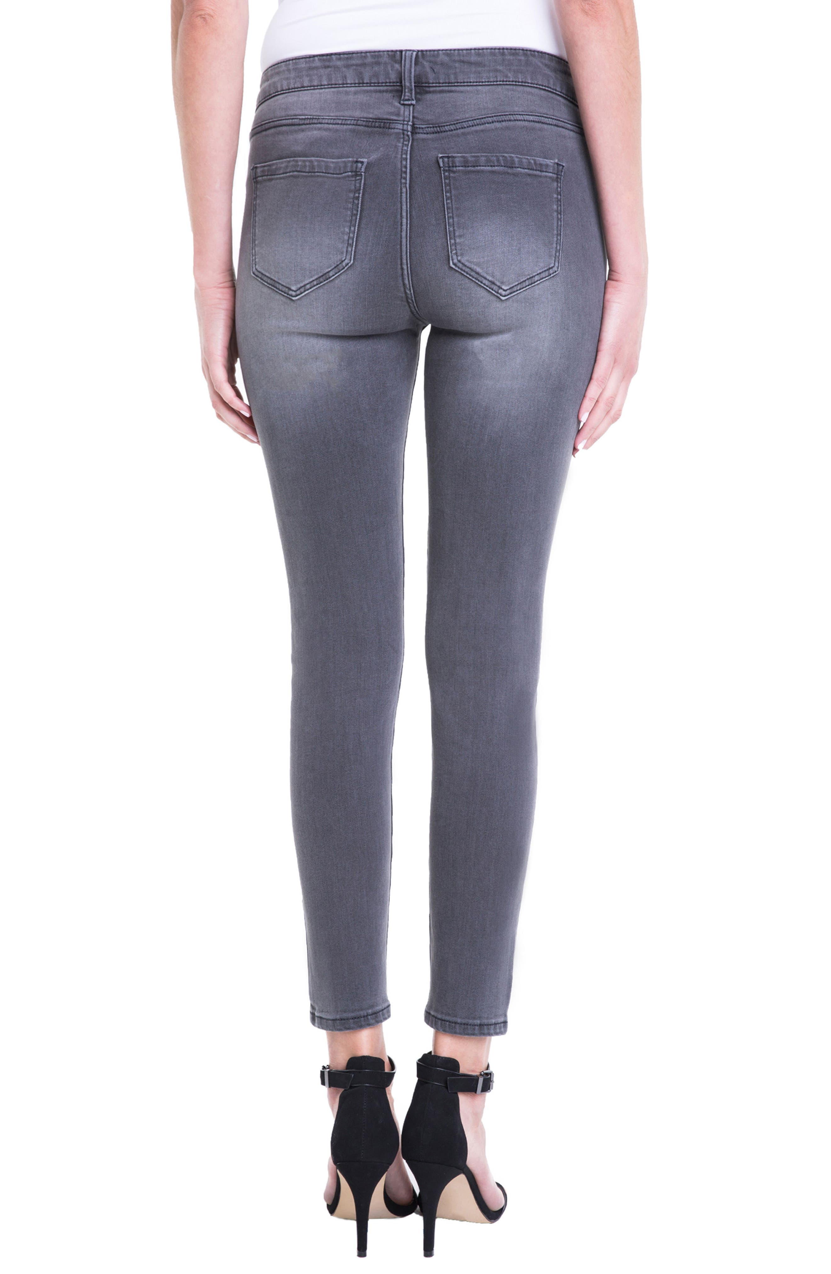 Penny Ankle Skinny Jeans,                             Alternate thumbnail 6, color,