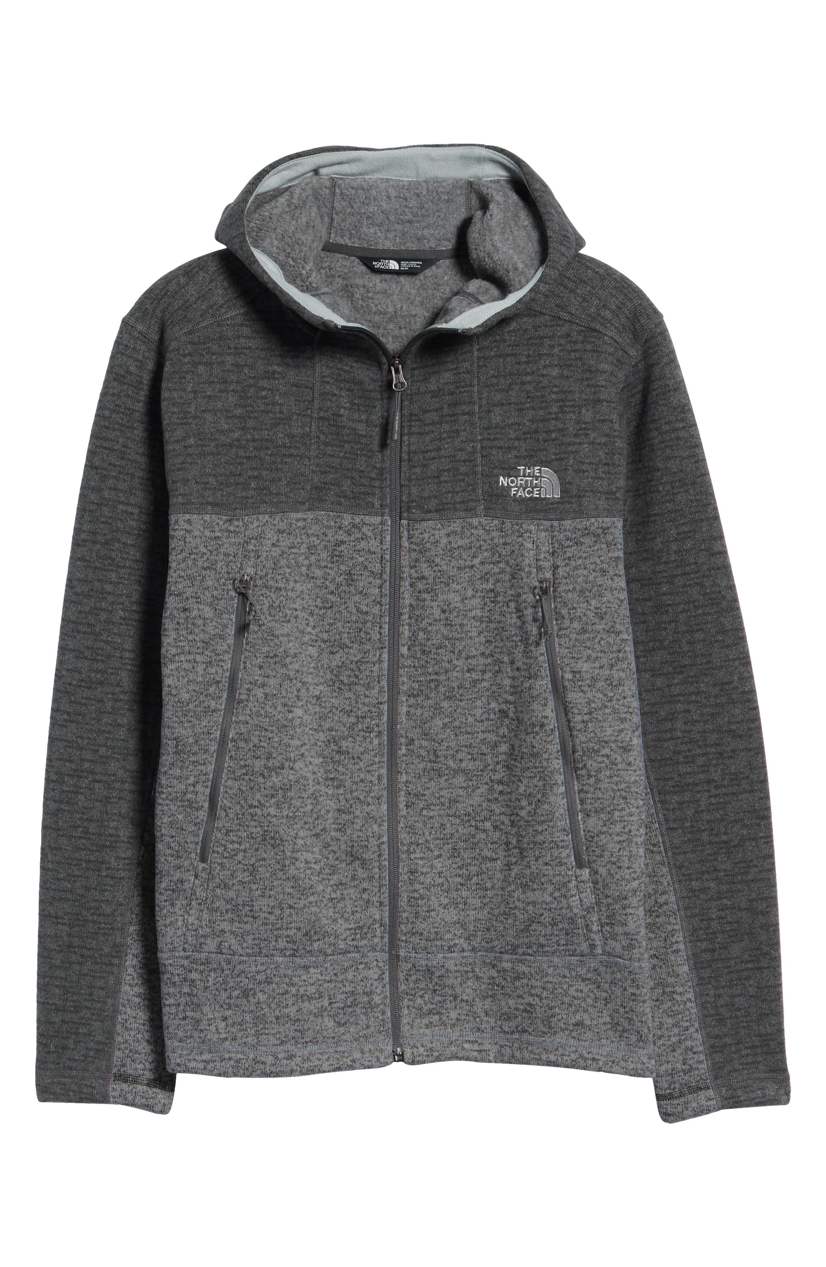 Gordon Lyons Alpine Sweater Fleece Hoodie,                             Alternate thumbnail 7, color,                             ASPHALT GREY/ MONUMENT GREY