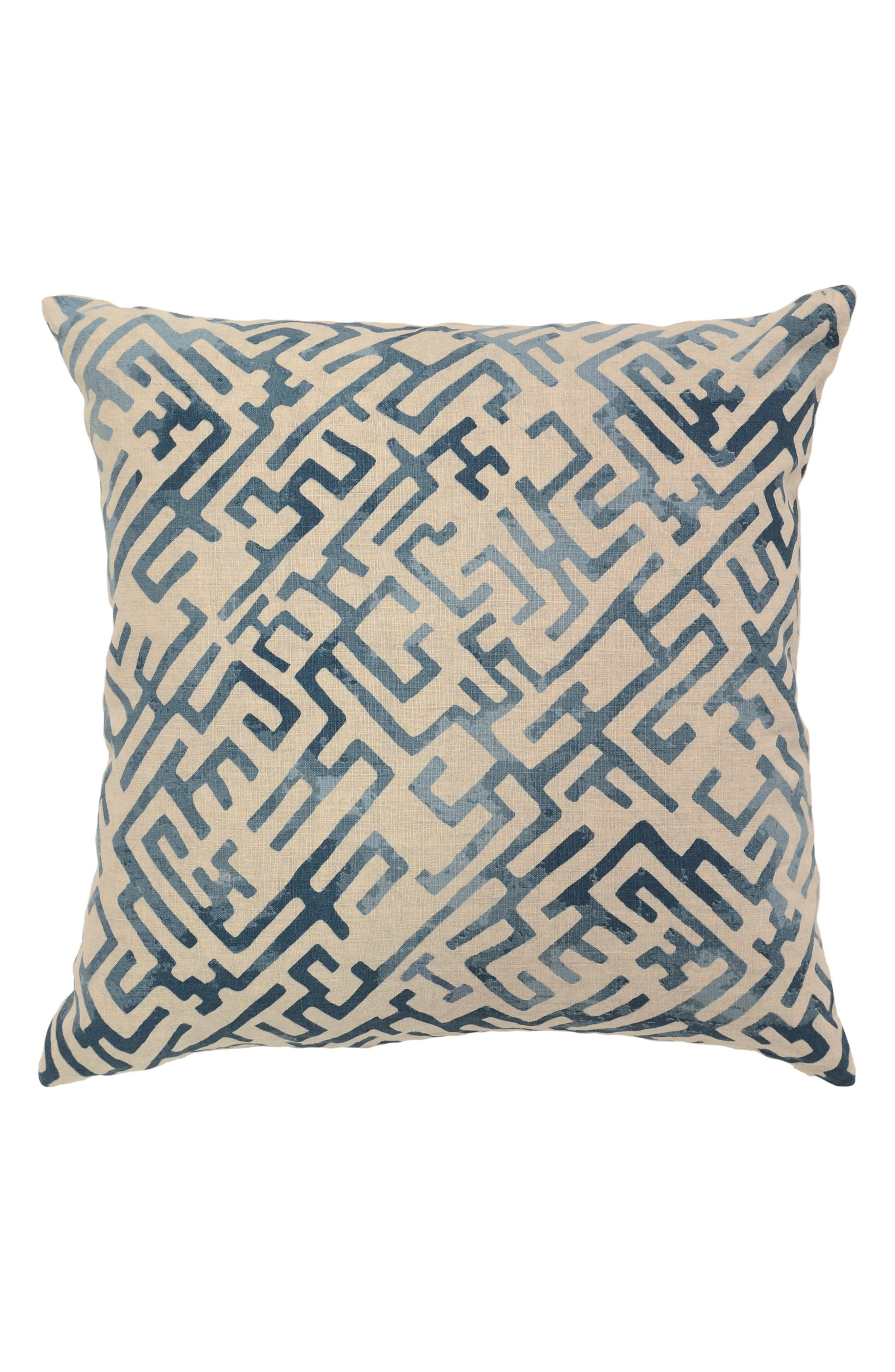 Marin Pillow,                         Main,                         color, BLUE