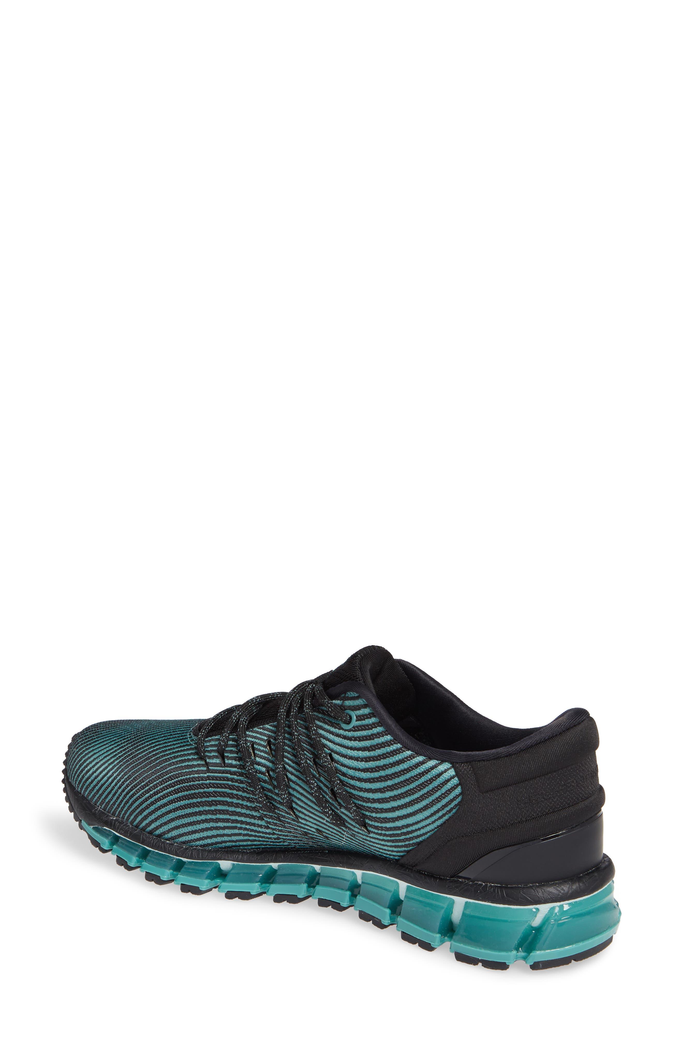 GEL Quantum 360 4 Running Shoe,                             Alternate thumbnail 2, color,                             SAGE/ BLACK