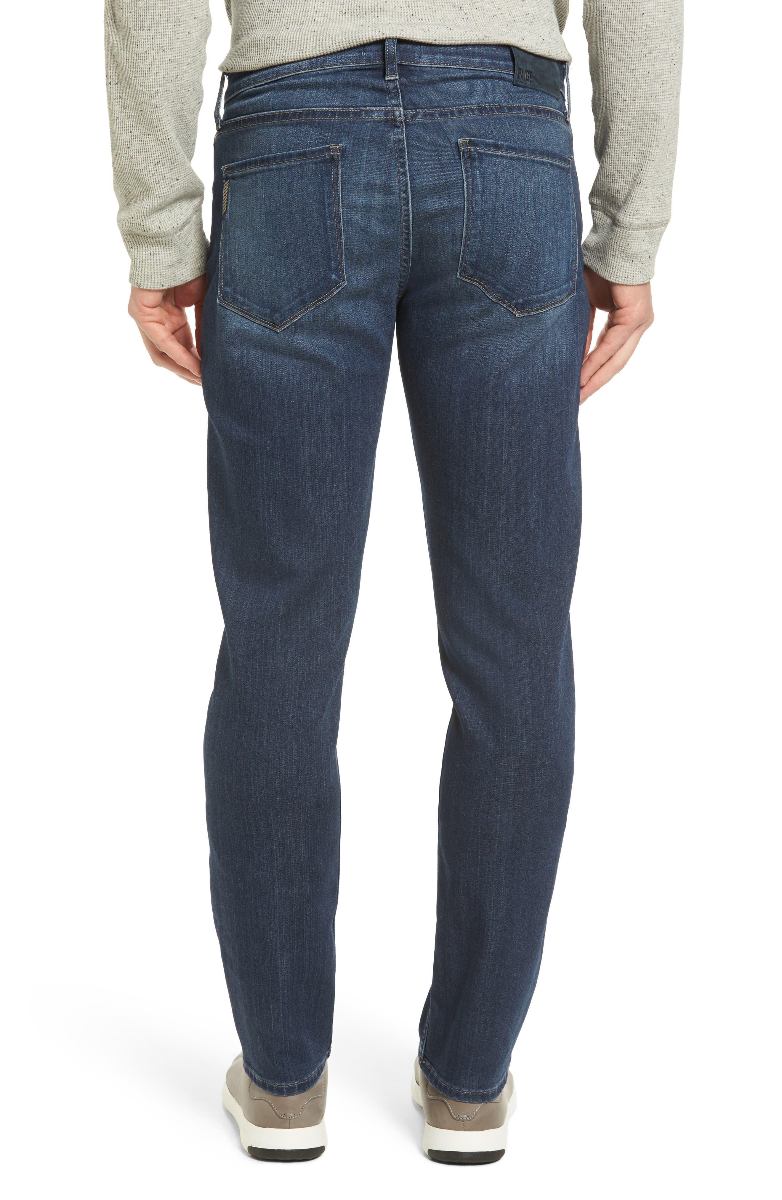 Transcend - Federal Slim Straight Leg Jeans,                             Alternate thumbnail 2, color,
