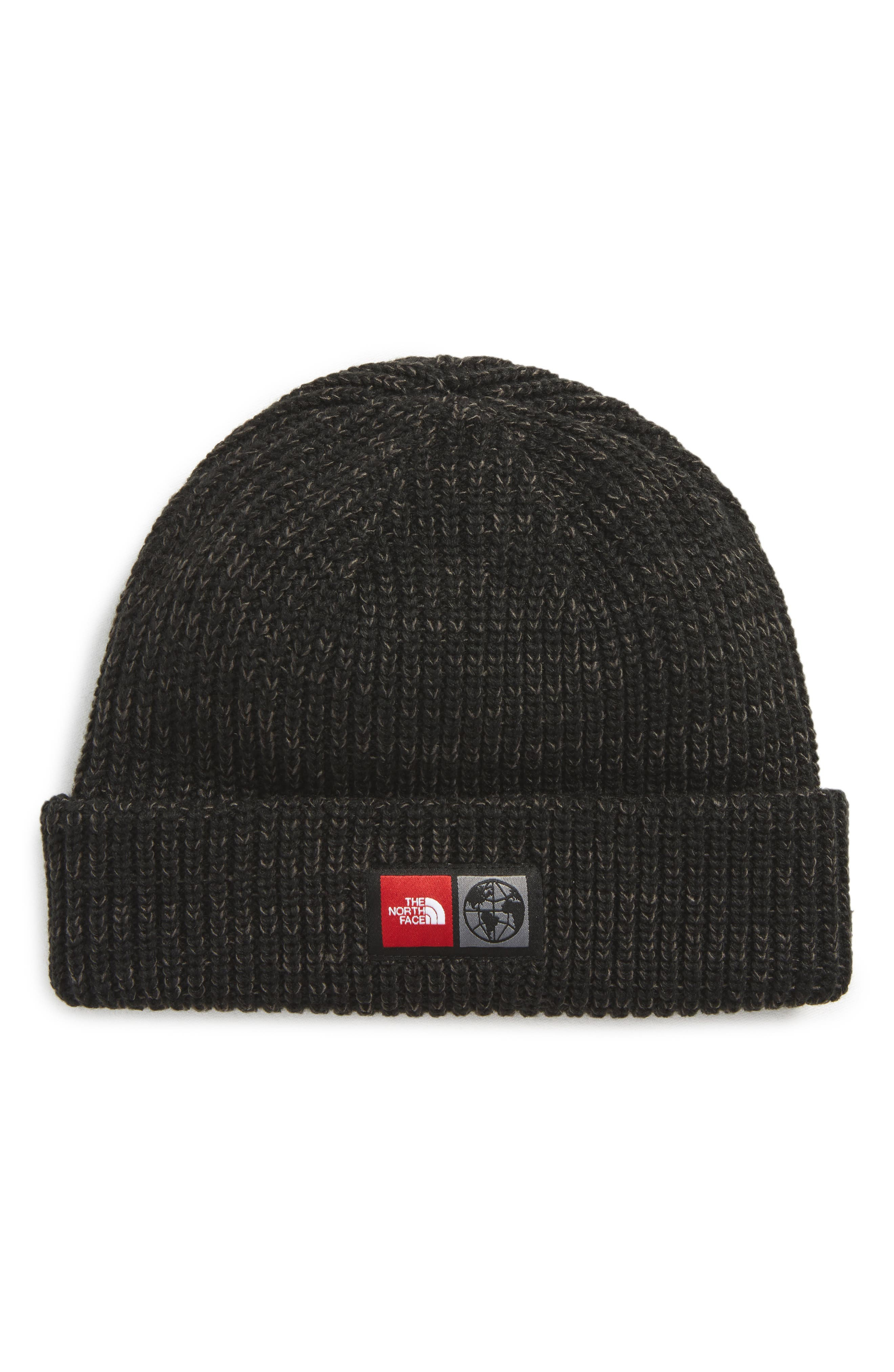 THE NORTH FACE,                             International Collection Acrylic Beanie,                             Main thumbnail 1, color,                             001