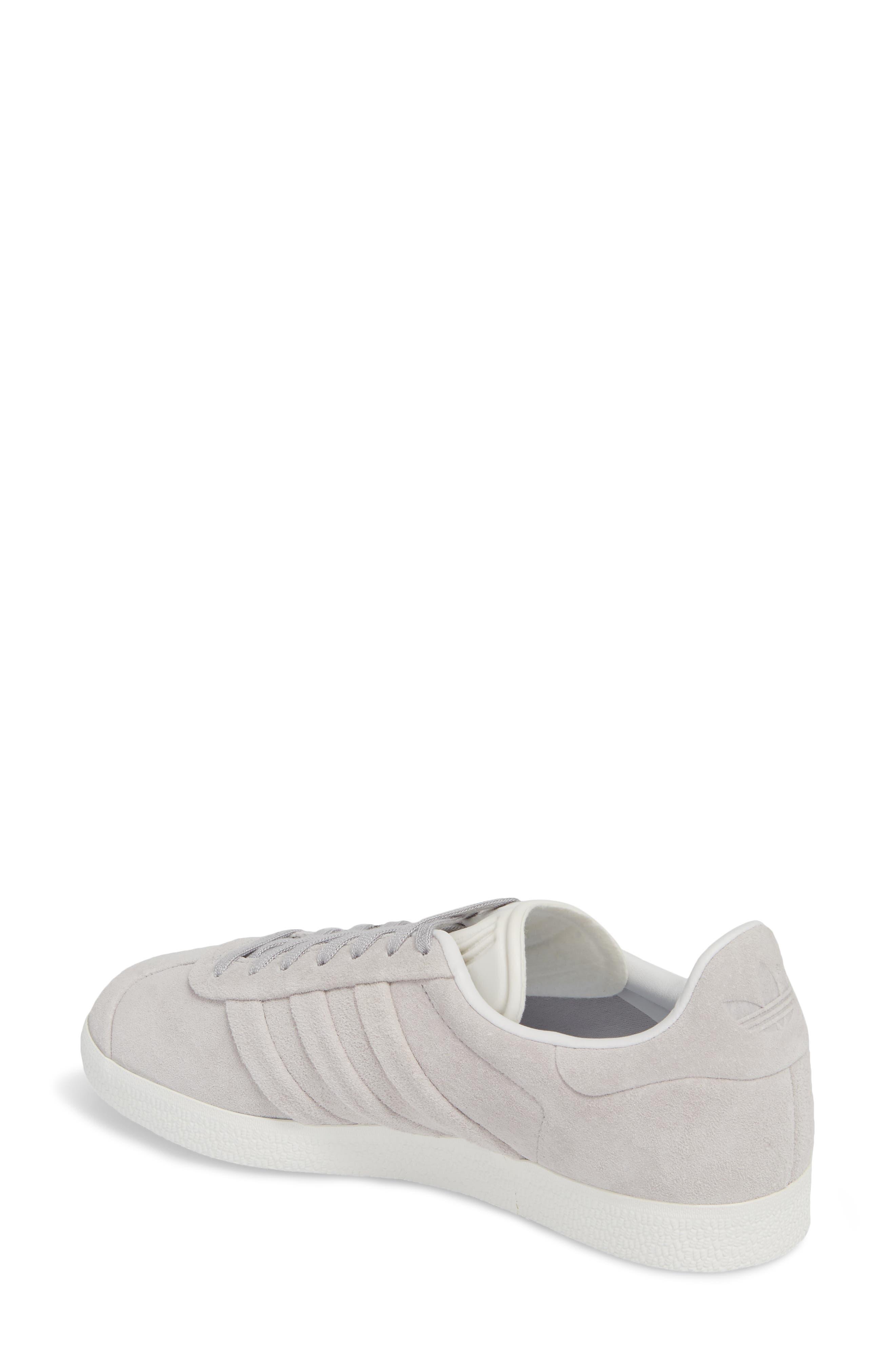Gazelle Stitch & Turn Sneaker,                             Alternate thumbnail 2, color,                             GREY/ GREY/ WHITE