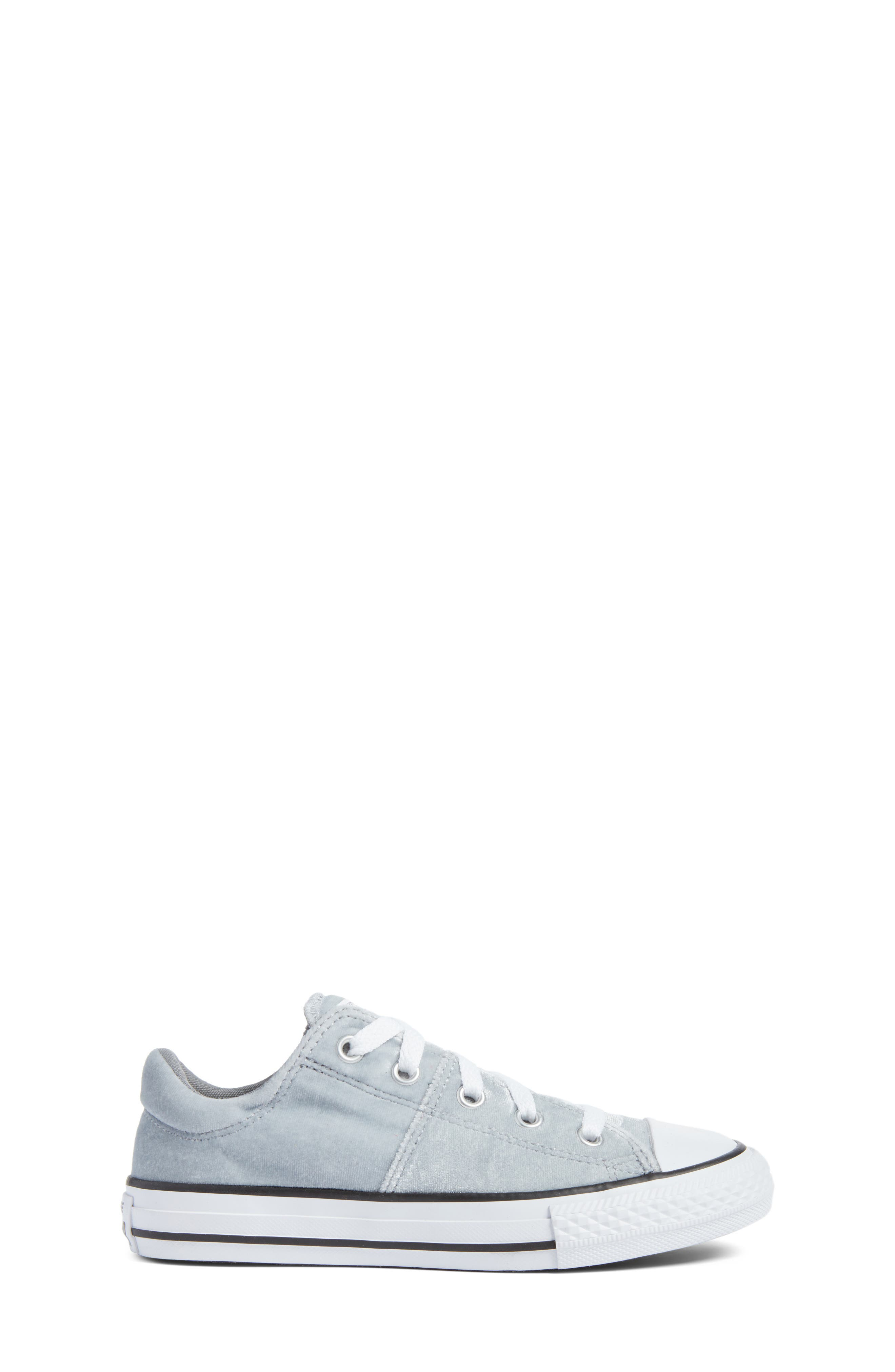 Chuck Taylor<sup>®</sup> All Star<sup>®</sup> Madison Velvet Low Top Sneaker,                             Alternate thumbnail 3, color,                             020