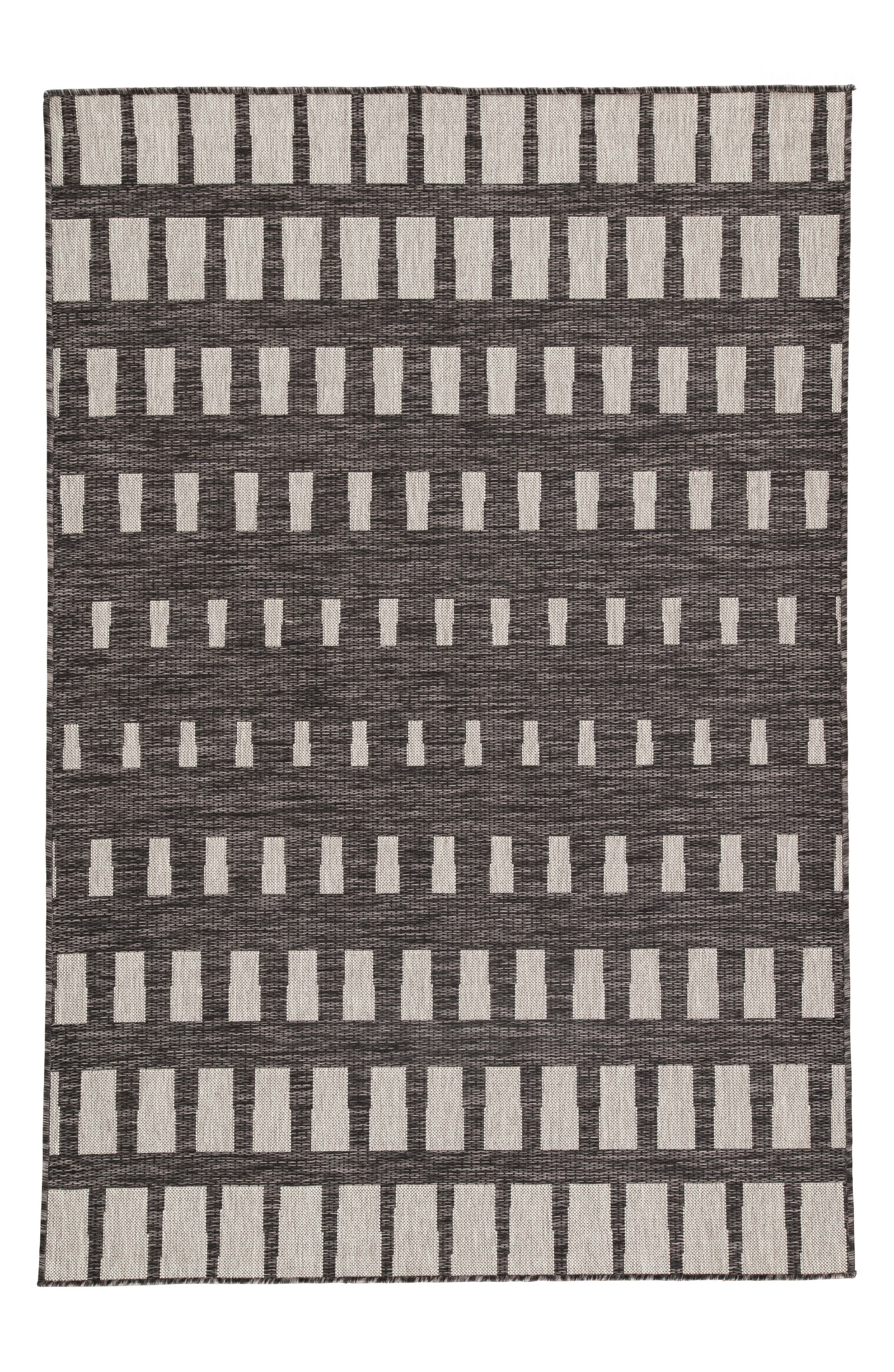 Vaise Indoor/Outdoor Rug,                             Main thumbnail 1, color,                             PEWTER