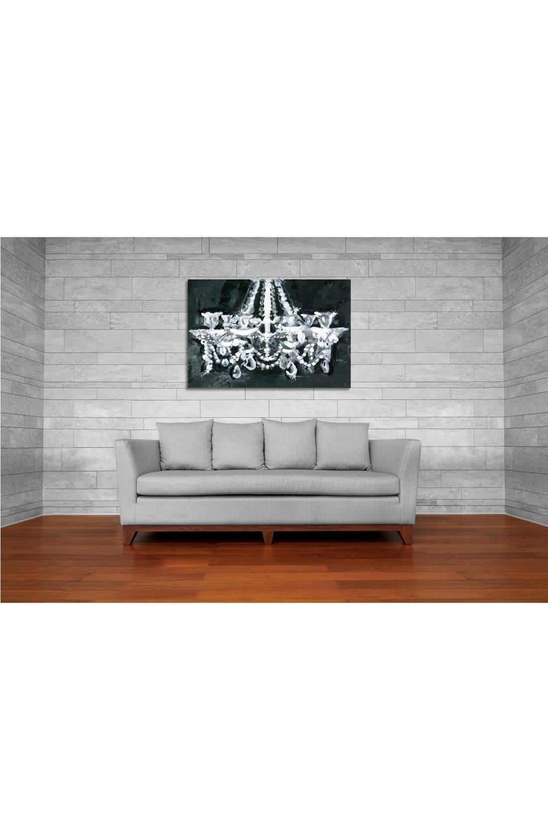 'Candelabra' Wall Art,                             Alternate thumbnail 2, color,                             BLACK MULTI