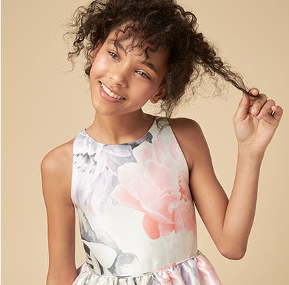 Summer means celebrations: kids' special occasion clothing, shoes and accessories.