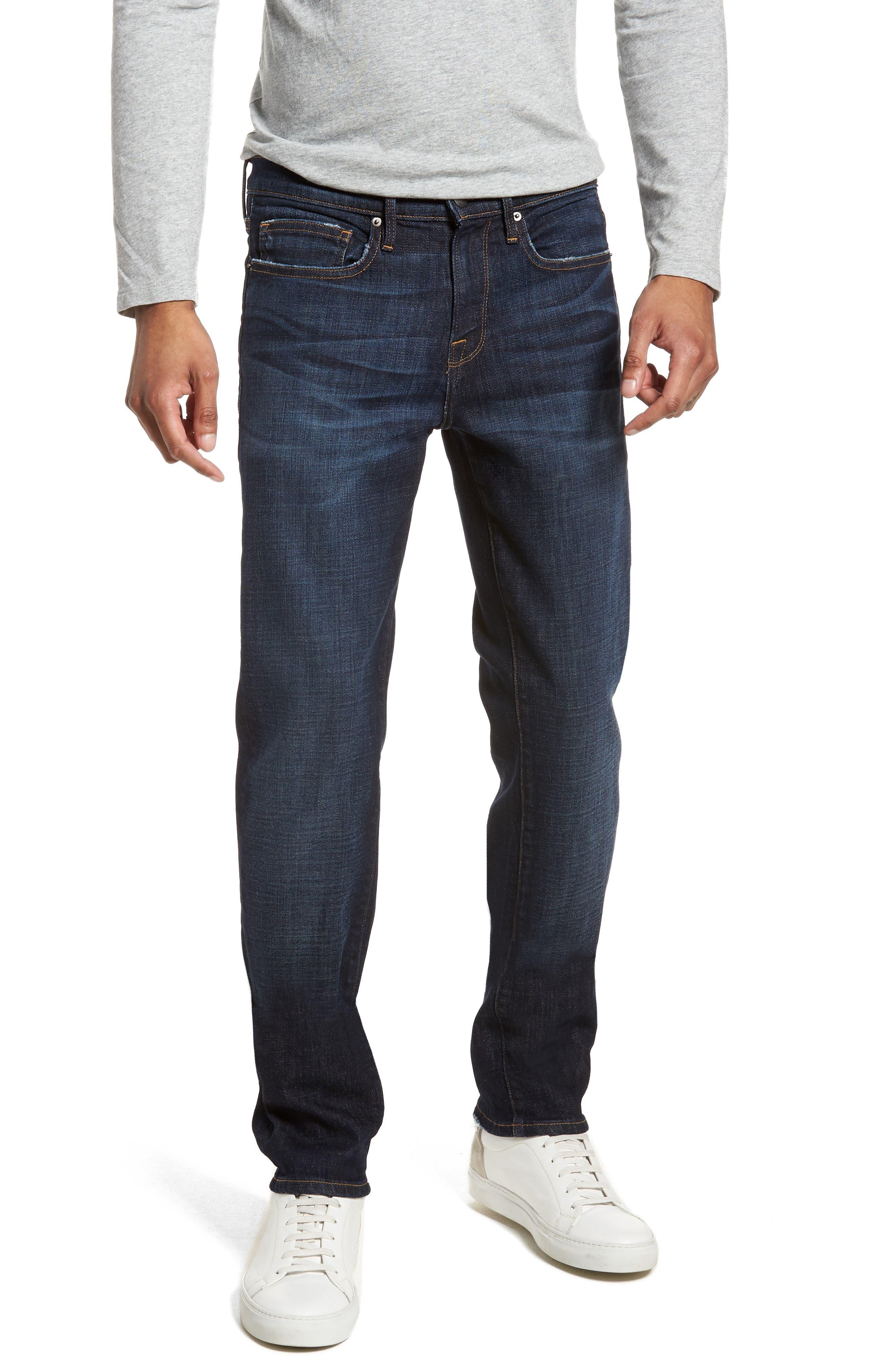 L'Homme Slim Fit Jeans,                             Main thumbnail 1, color,                             421