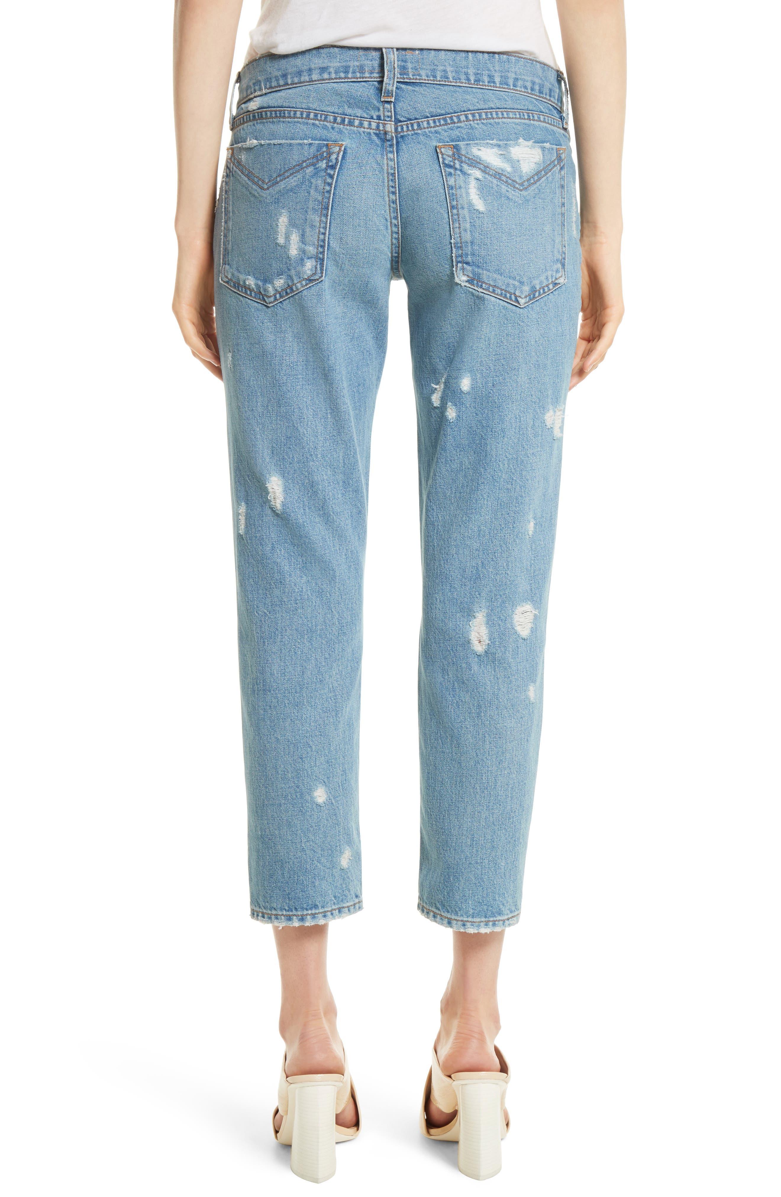 Mila Slim Girlfriend Jeans,                             Alternate thumbnail 2, color,                             450
