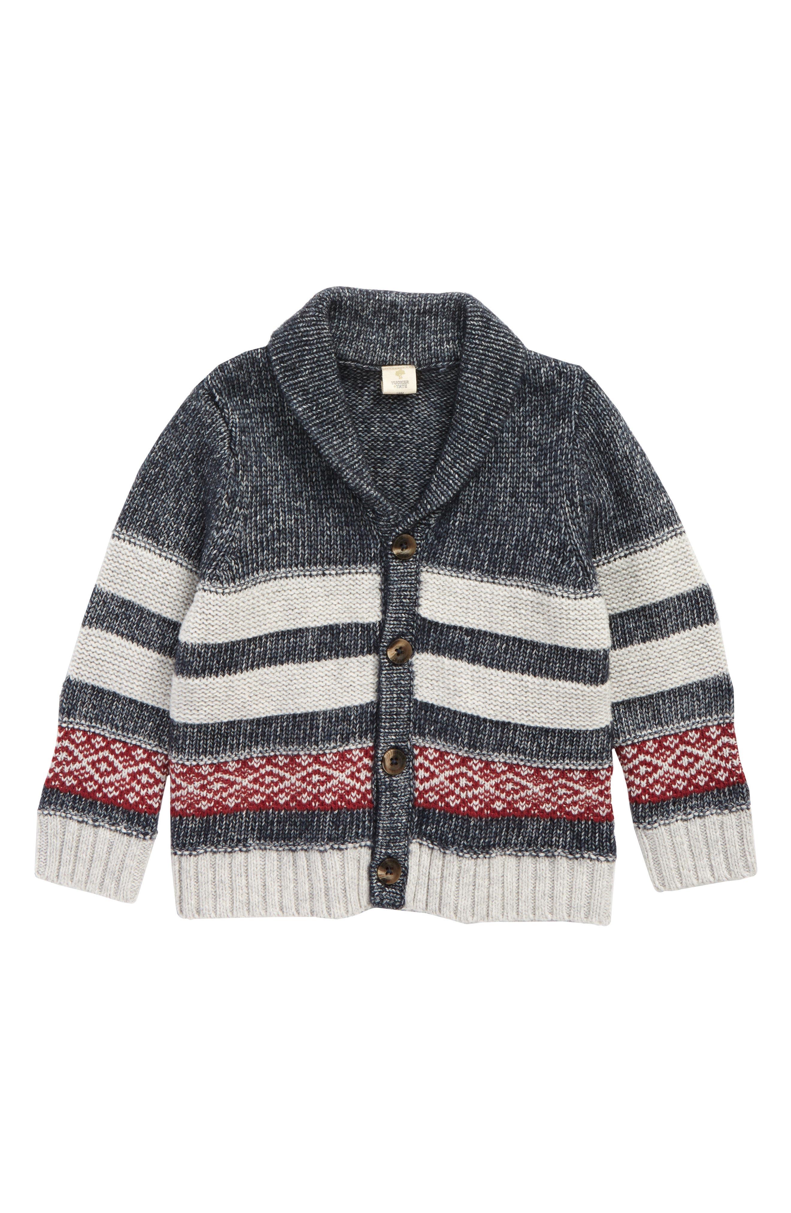 Stripe Cardigan,                         Main,                         color, 410