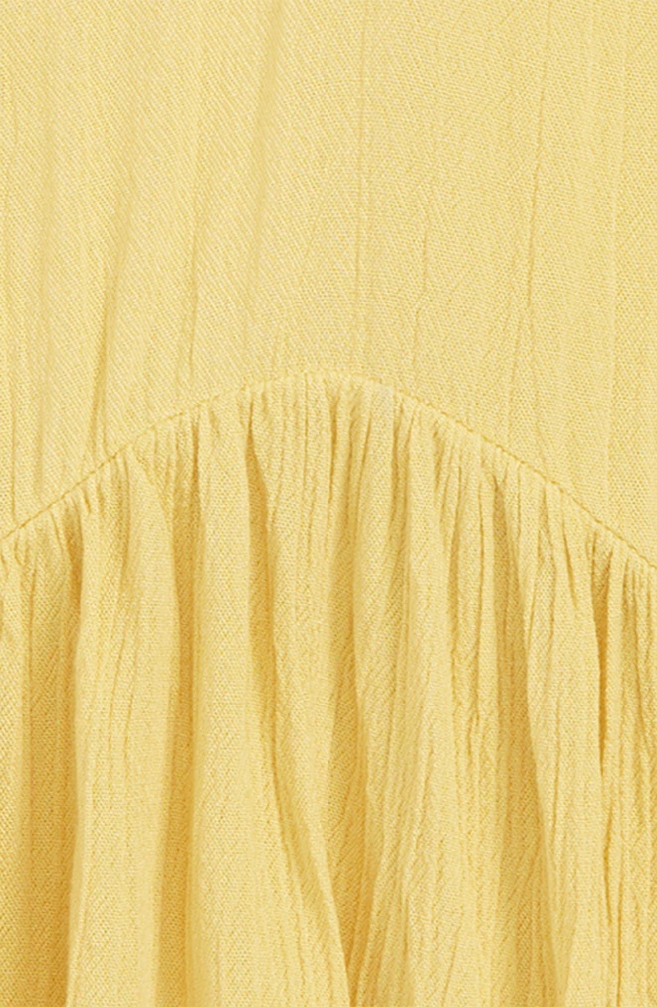 Cypress Peplum Top,                             Alternate thumbnail 2, color,                             RATTAN