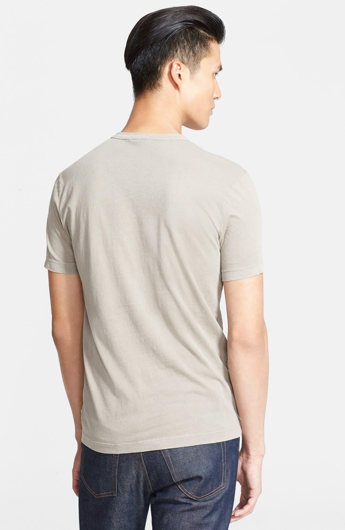 Crewneck Jersey T-Shirt,                             Alternate thumbnail 162, color,