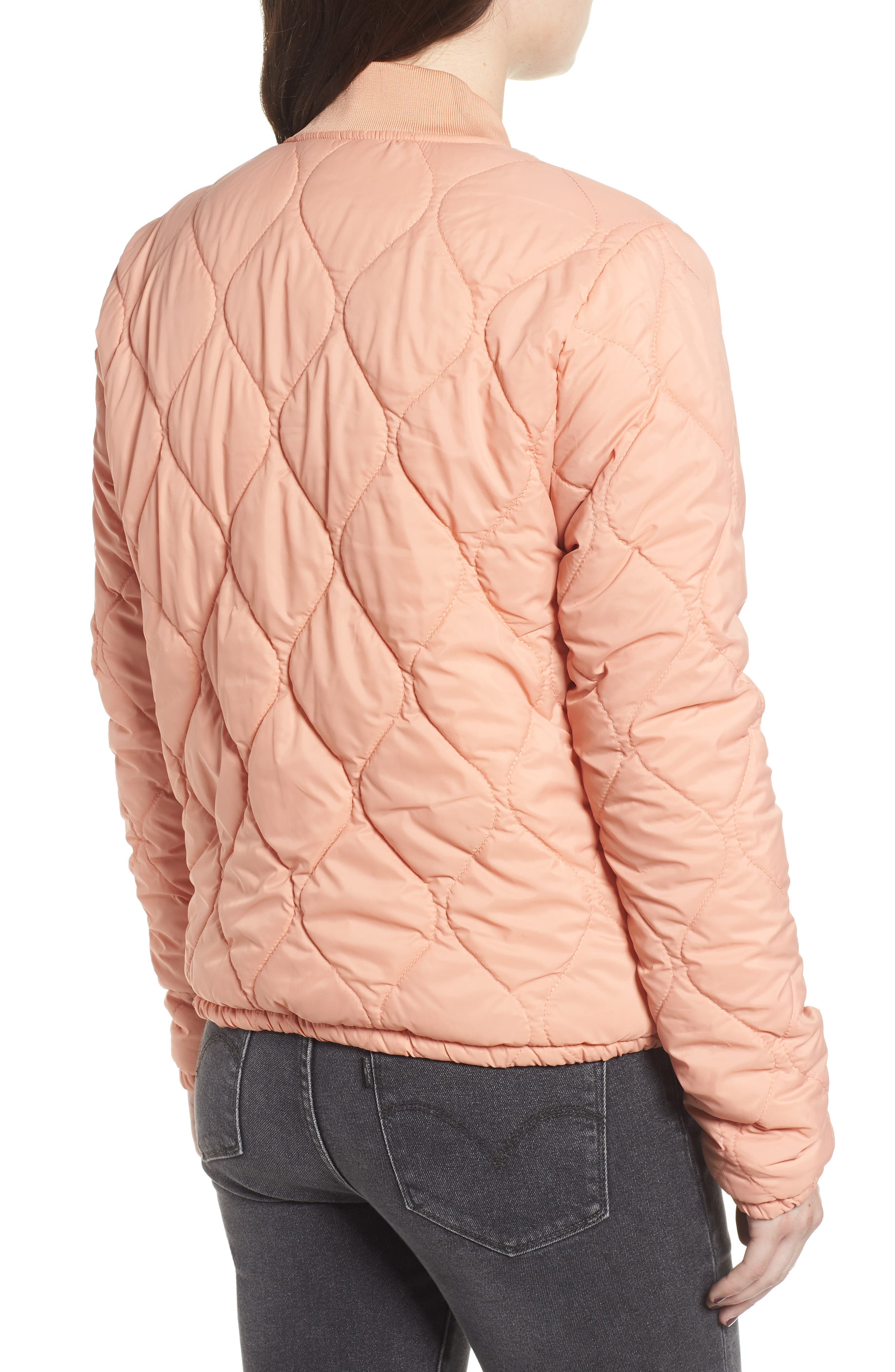 OBEY,                             Bunker Quilted Bomber Jacket,                             Alternate thumbnail 2, color,                             950