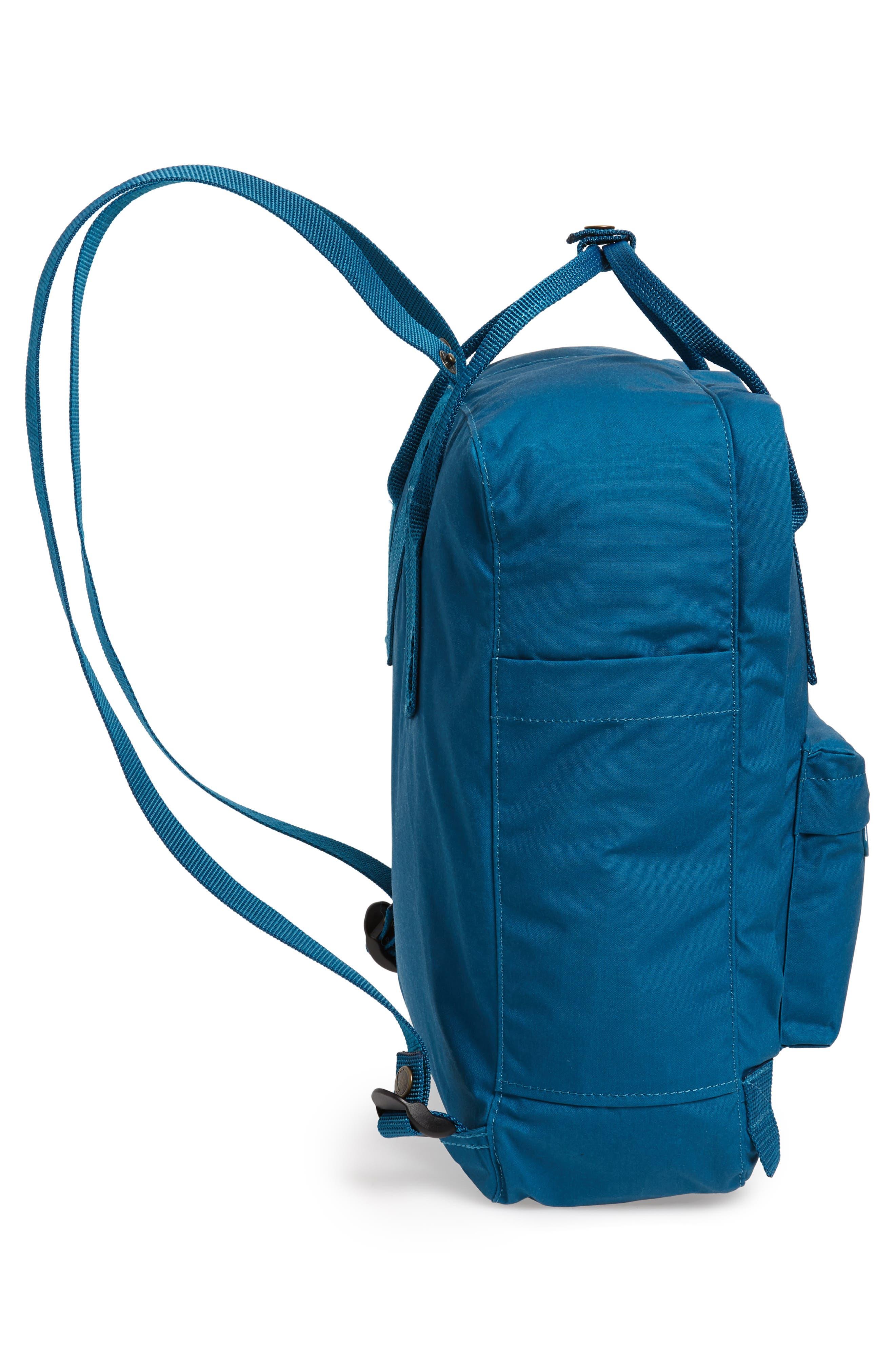 'Kånken' Water Resistant Backpack,                             Alternate thumbnail 5, color,                             GLACIER GREEN
