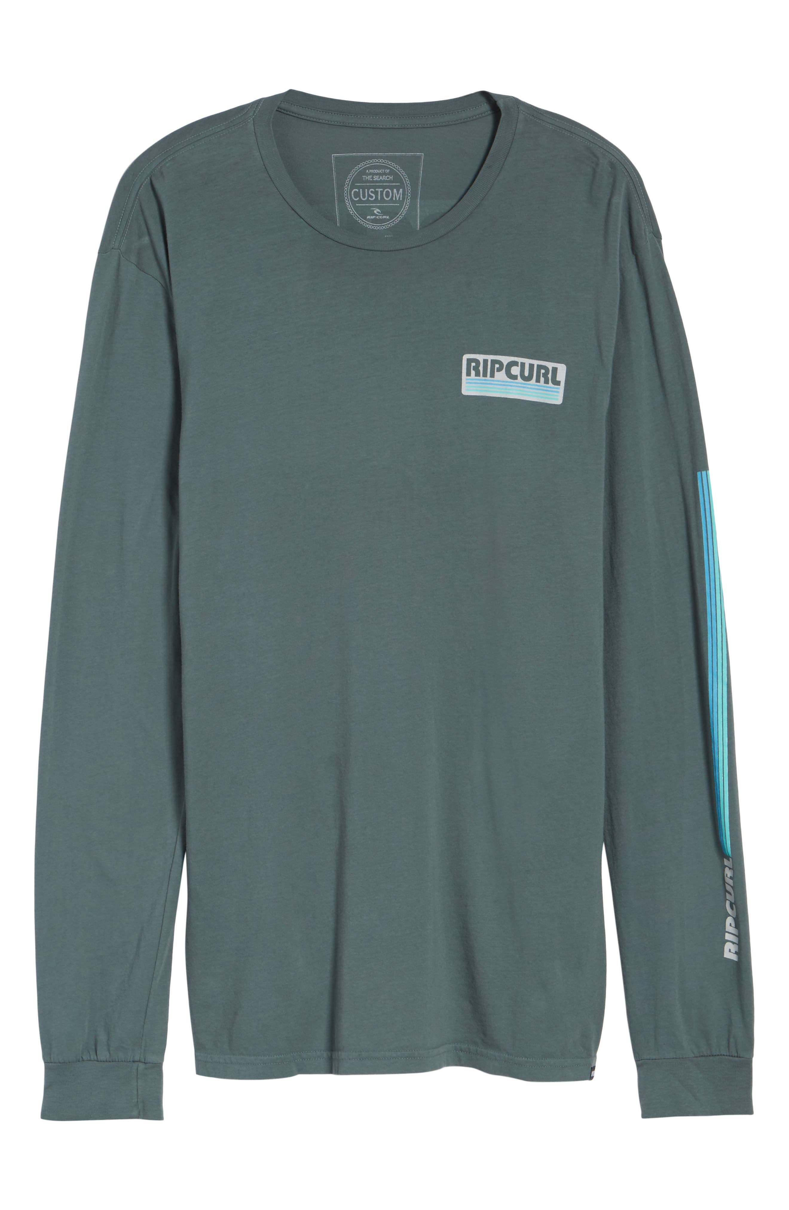 The Pump Long Sleeve Logo Graphic T-Shirt,                             Alternate thumbnail 6, color,                             443