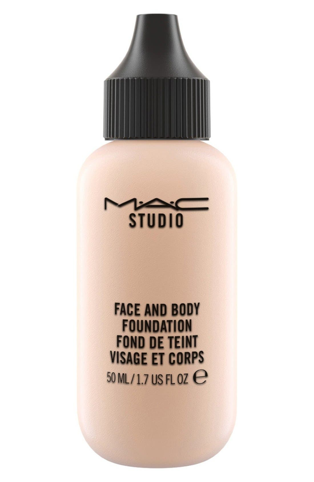 MAC M·A·C Studio Face and Body Foundation,                             Main thumbnail 1, color,                             N1
