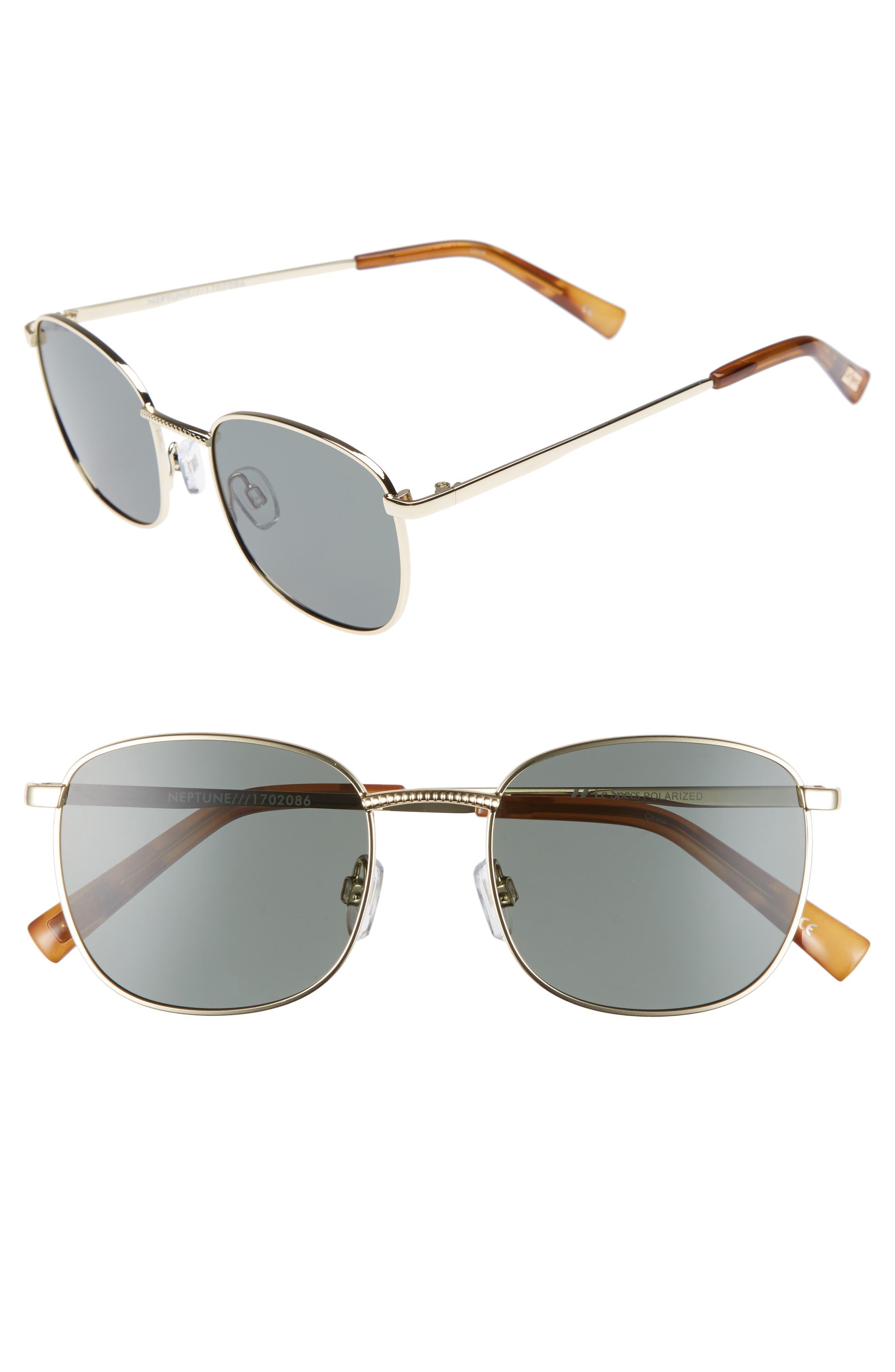 Le Specs Neptune 4m Sunglasses - Bright Gold
