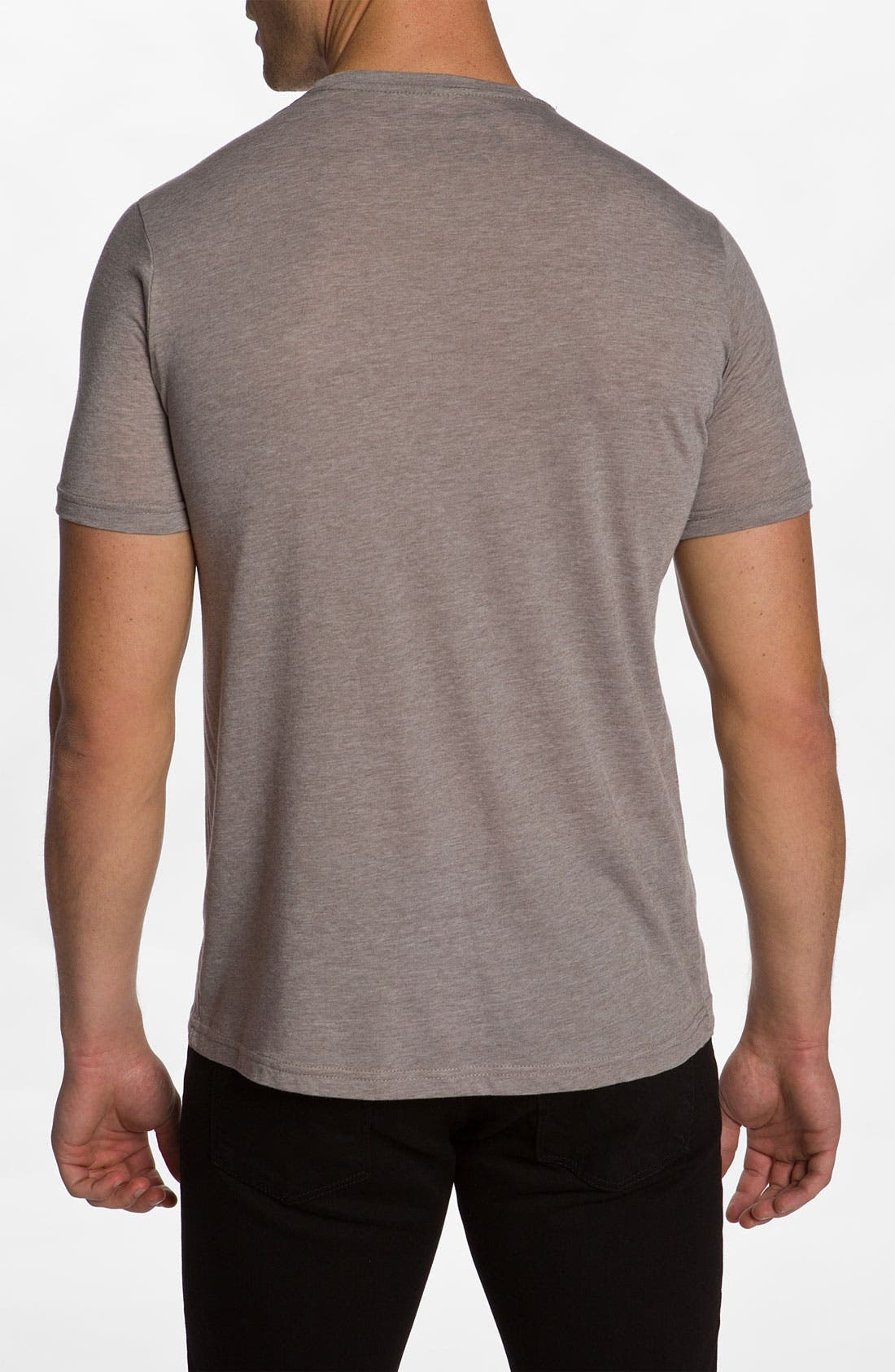 'Wolf Headdress' T-Shirt,                             Alternate thumbnail 3, color,                             250