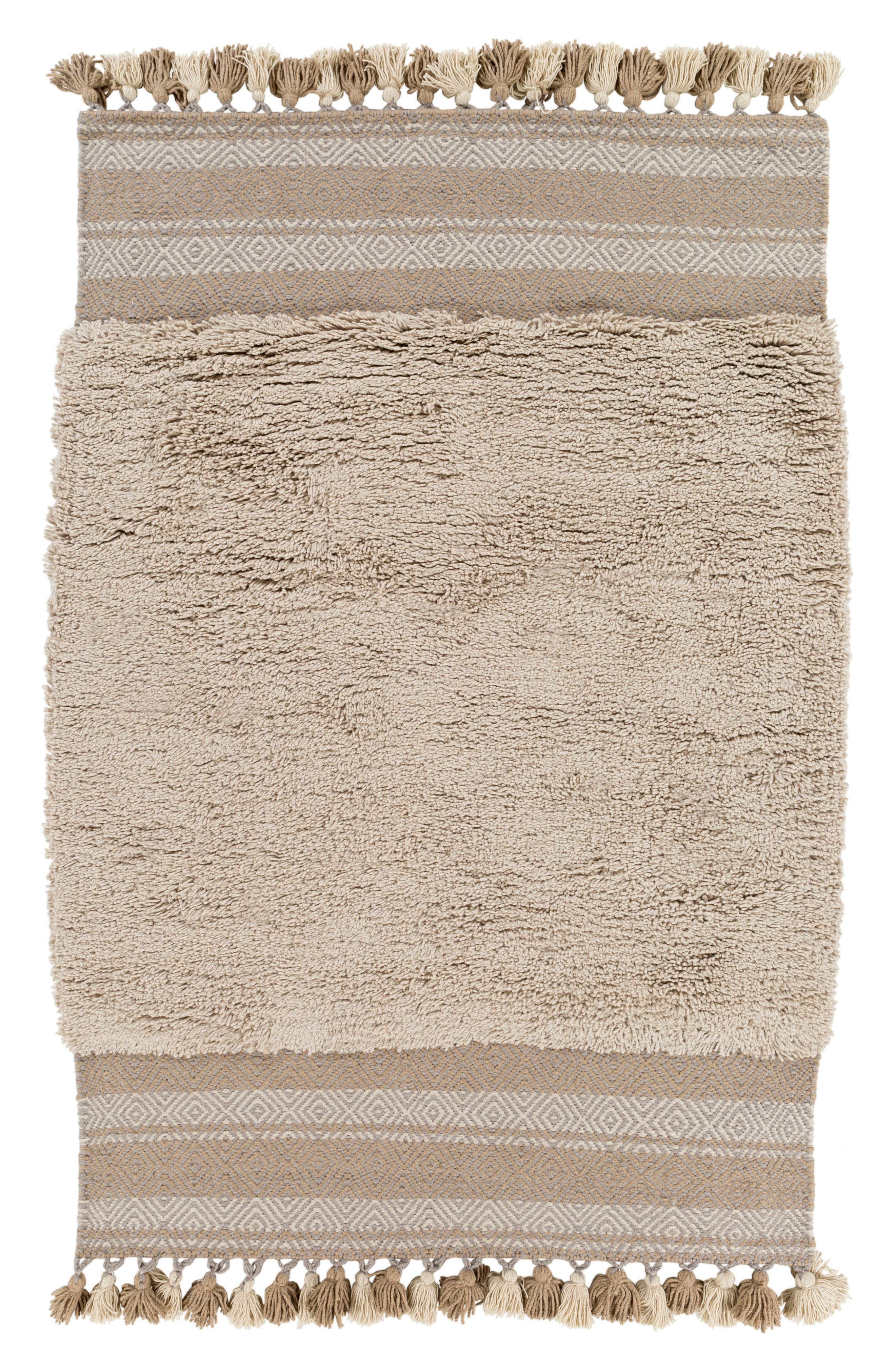 Korva Modern Handwoven Rug,                             Main thumbnail 1, color,