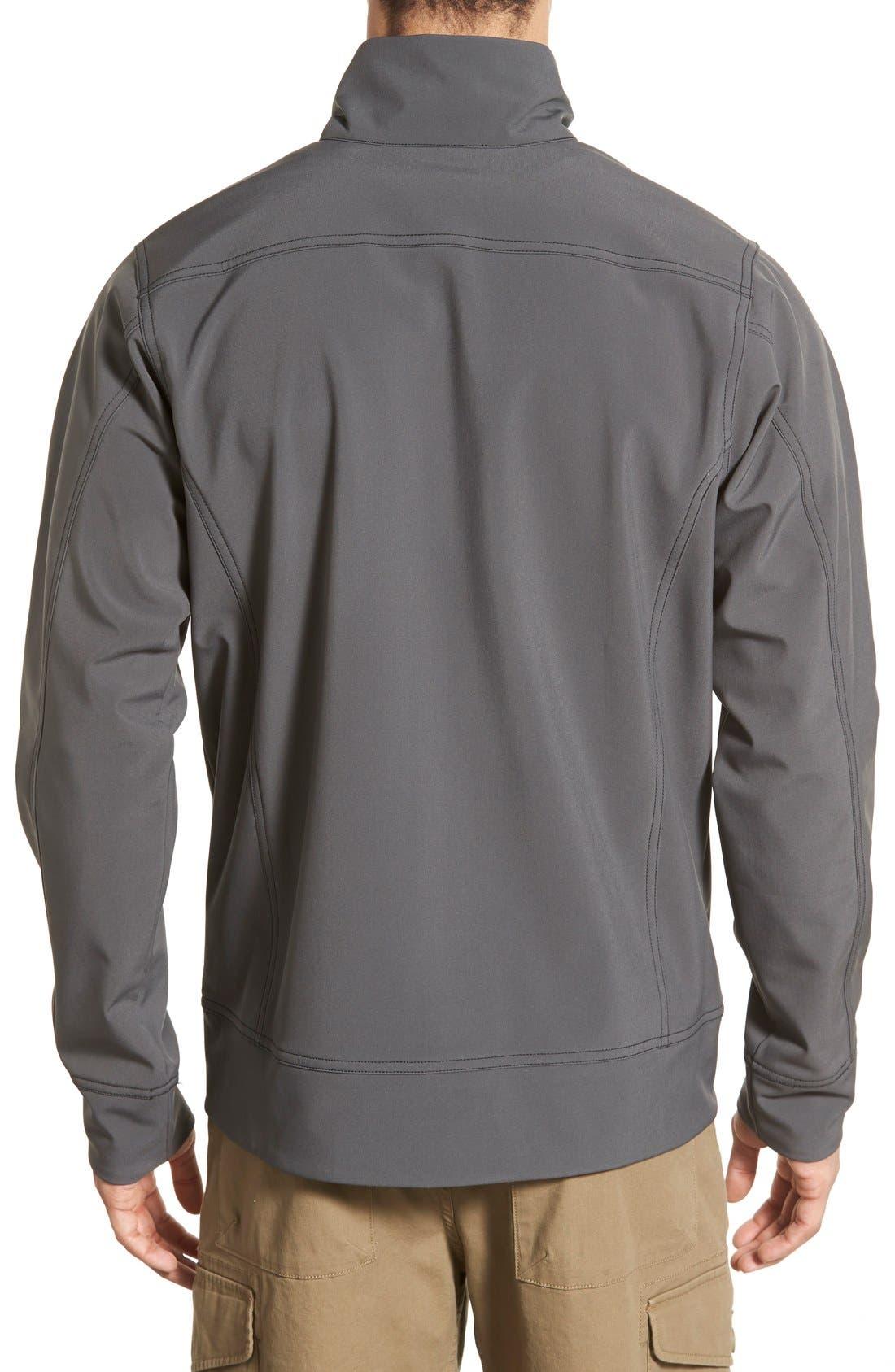 'Sidesend' Regular Fit Water Repellent Jacket,                             Alternate thumbnail 5, color,