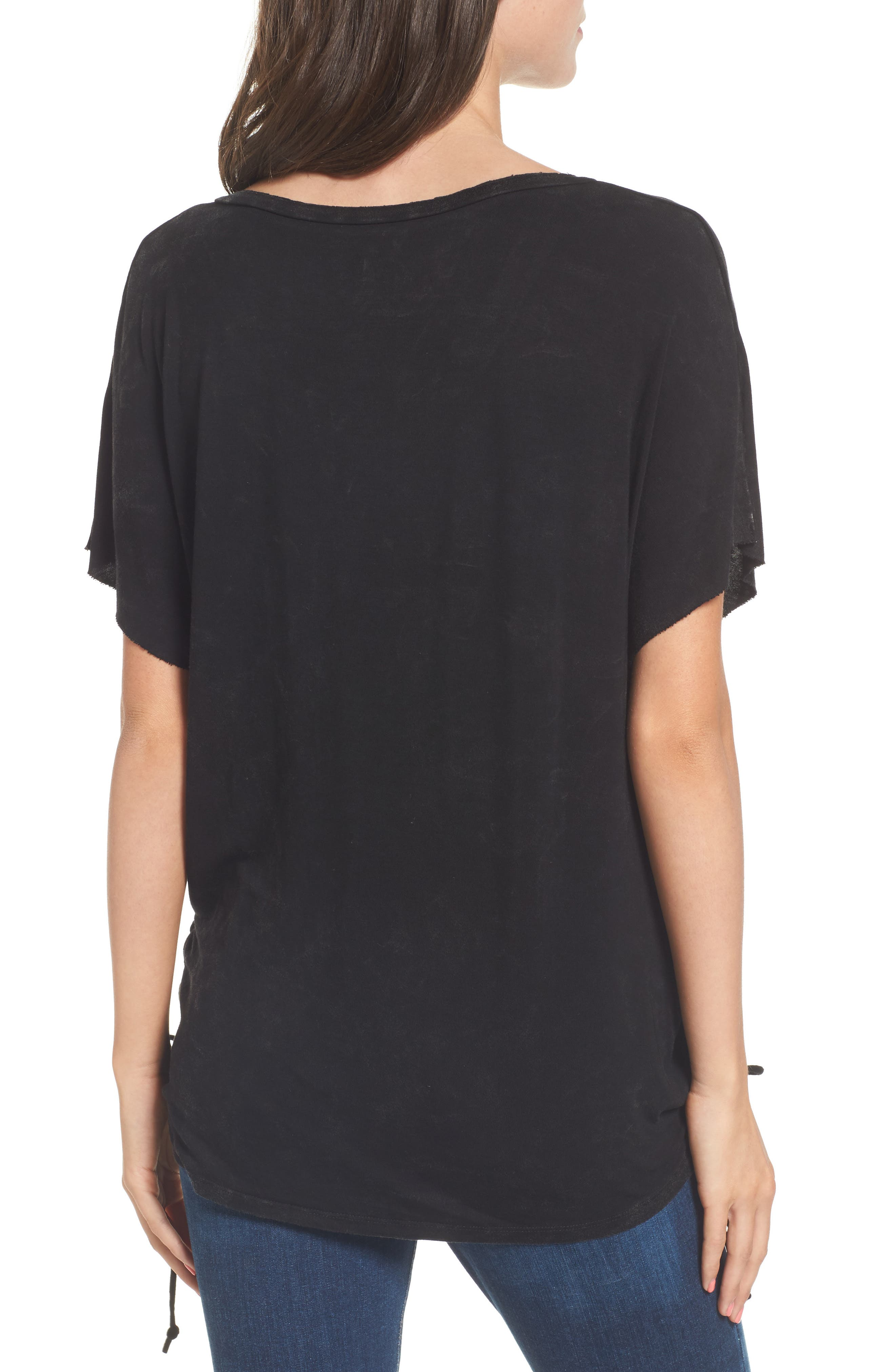 Whitney Graphic Tee,                             Alternate thumbnail 2, color,                             001
