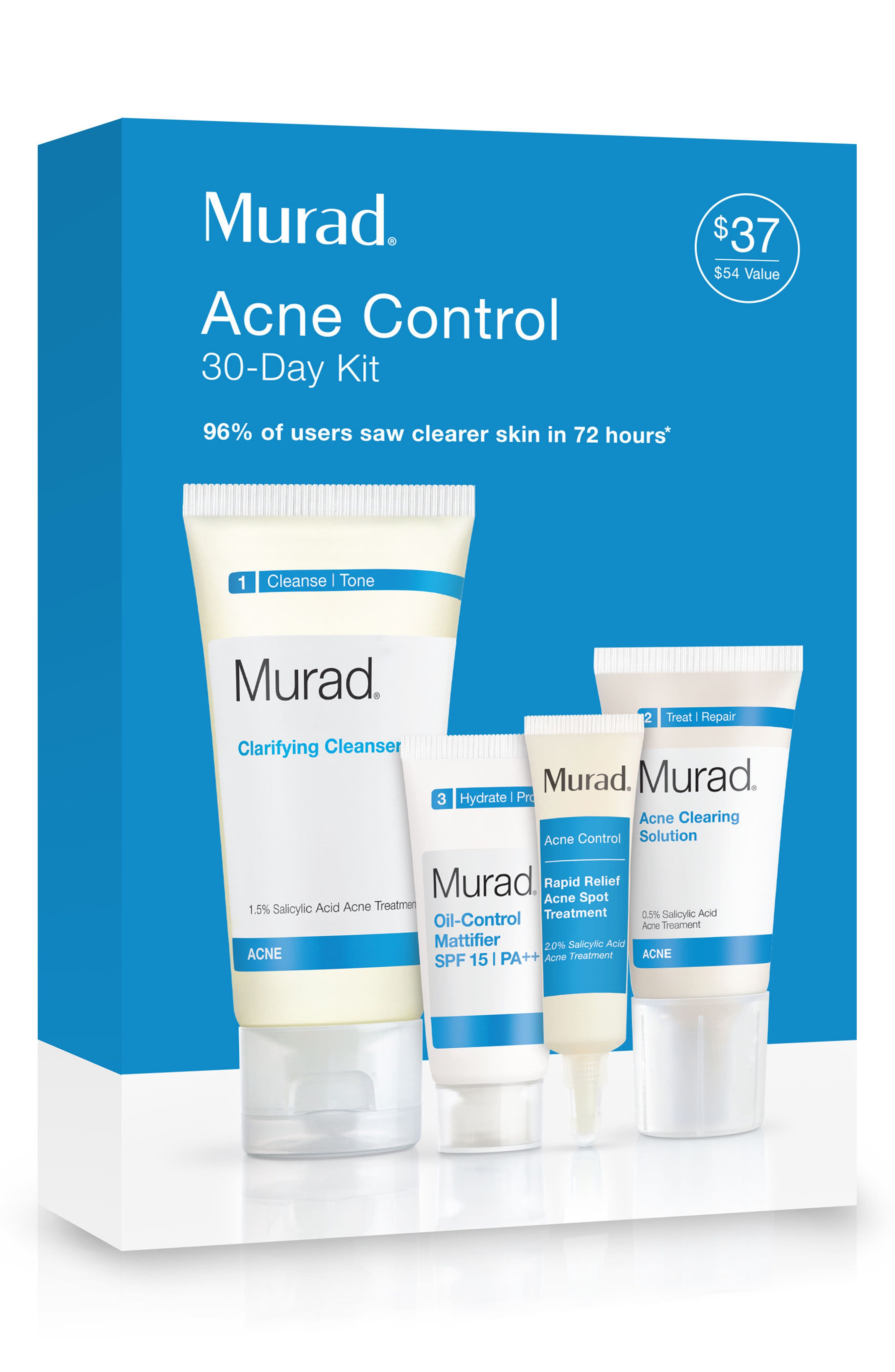 Acne Control 30-Day Kit,                             Alternate thumbnail 3, color,                             000