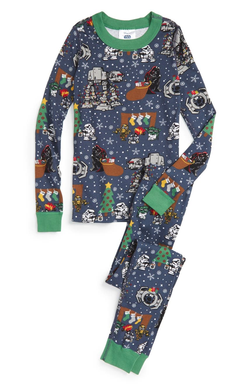 d1ee73132d73 Hanna Andersson Star Wars™ Holiday Organic Cotton Fitted Two-Piece ...