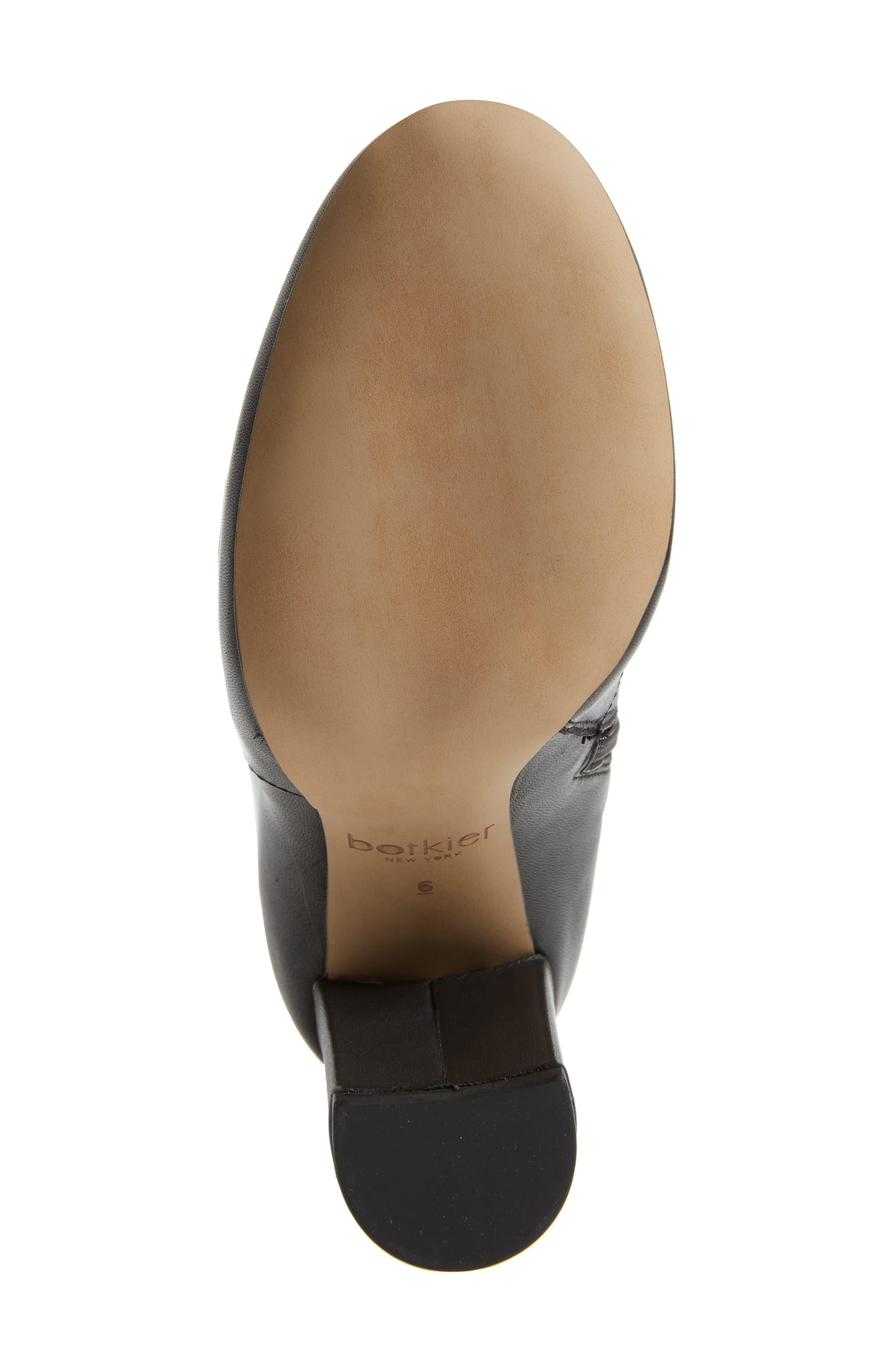 Roslin Knee High Boot,                             Alternate thumbnail 6, color,                             001